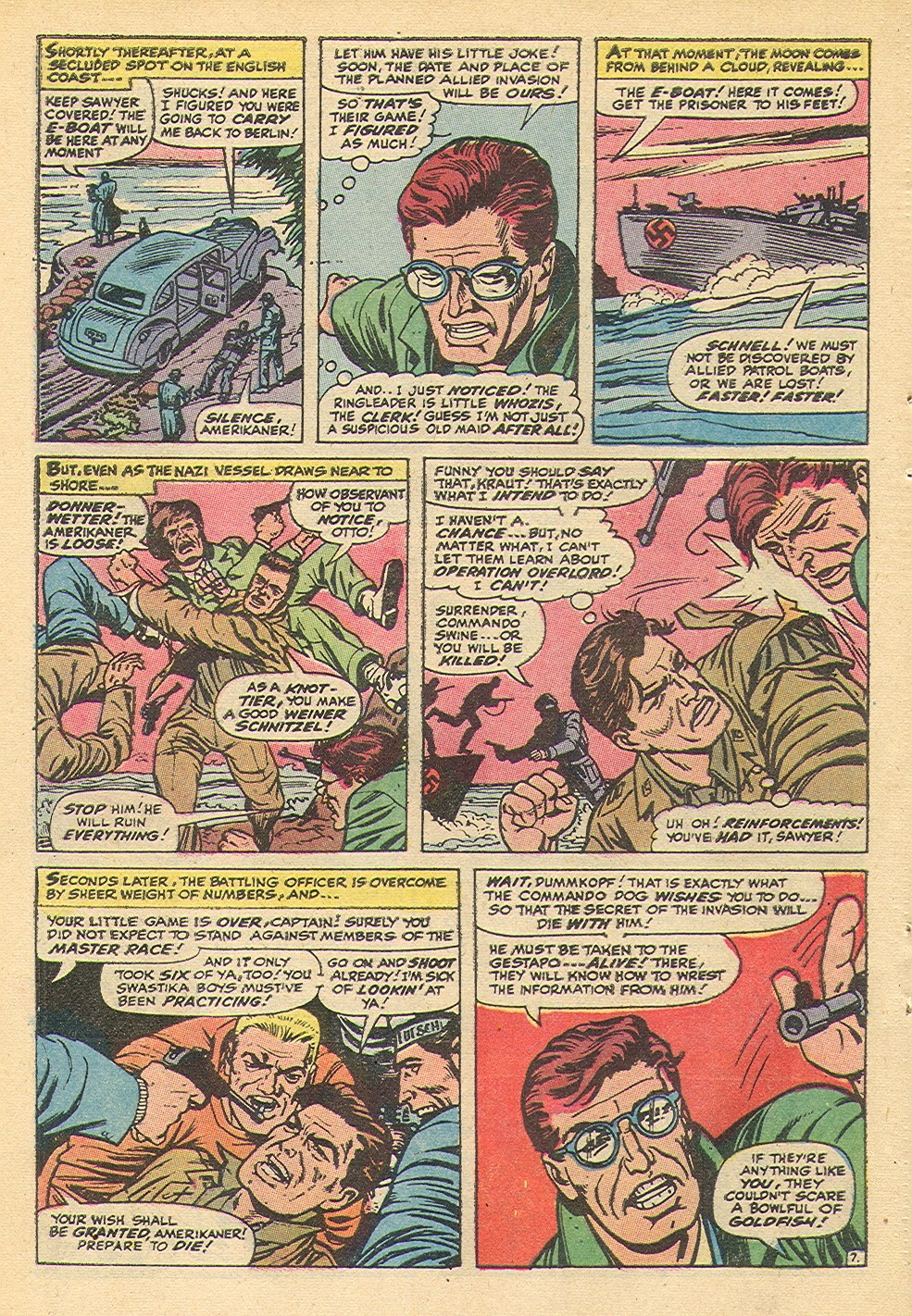 Read online Sgt. Fury comic -  Issue #92 - 32