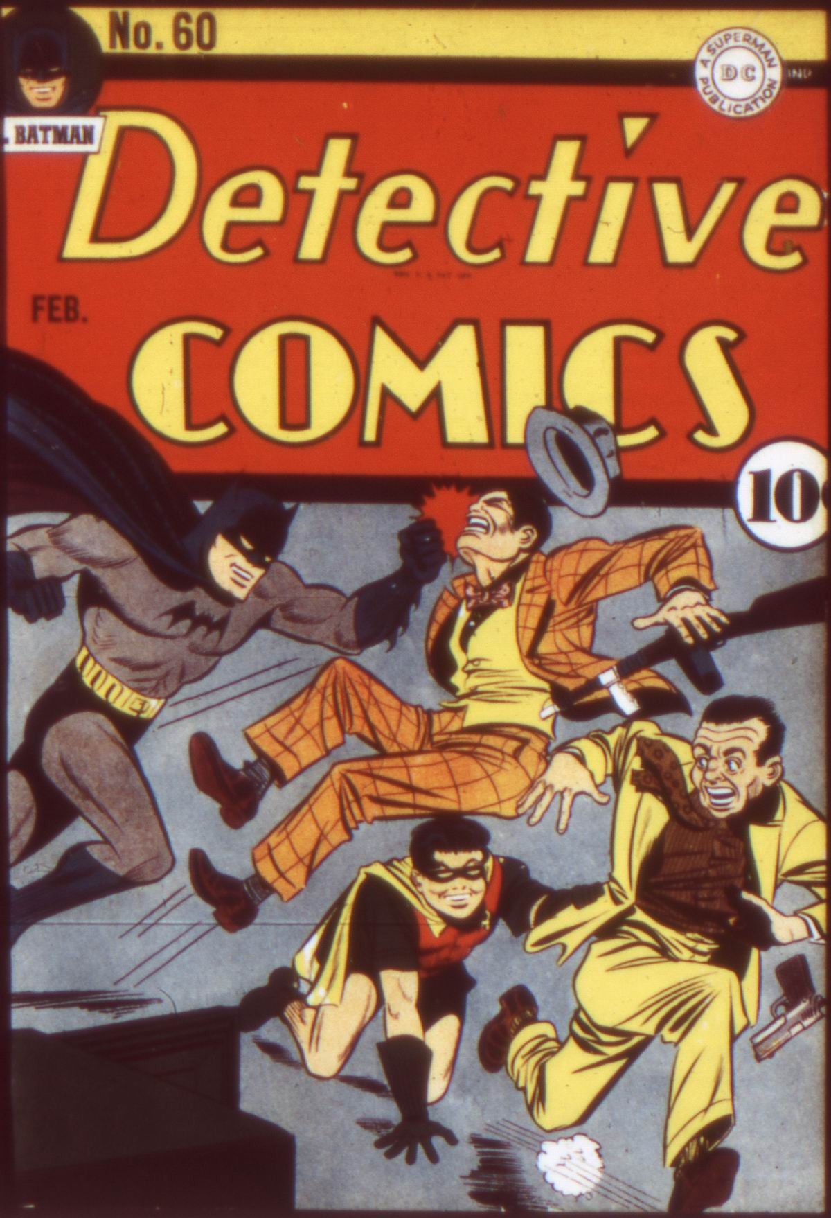 Read online Detective Comics (1937) comic -  Issue #60 - 1