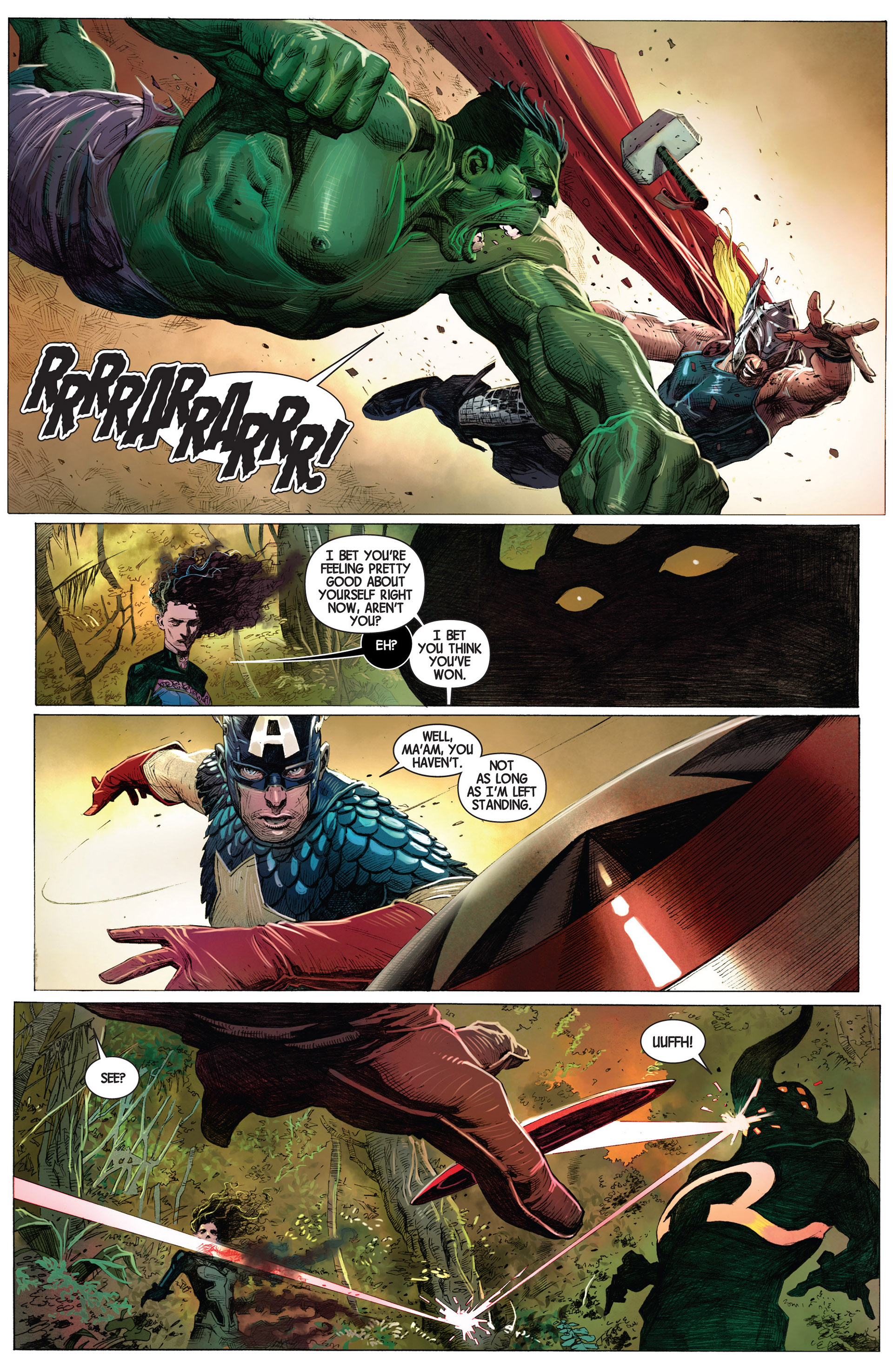 Read online Avengers (2013) comic -  Issue #1 - 18