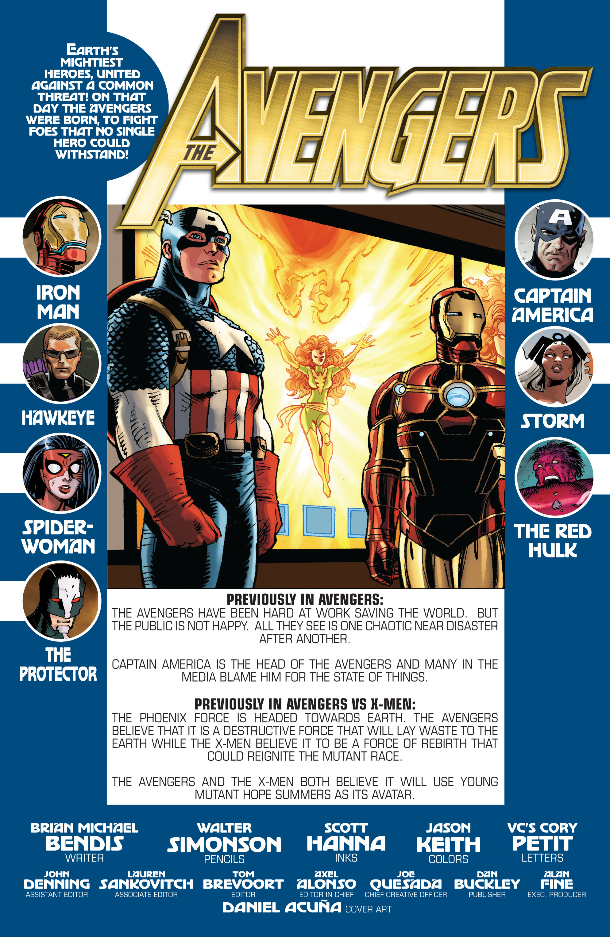Read online Avengers (2010) comic -  Issue #25 - 2