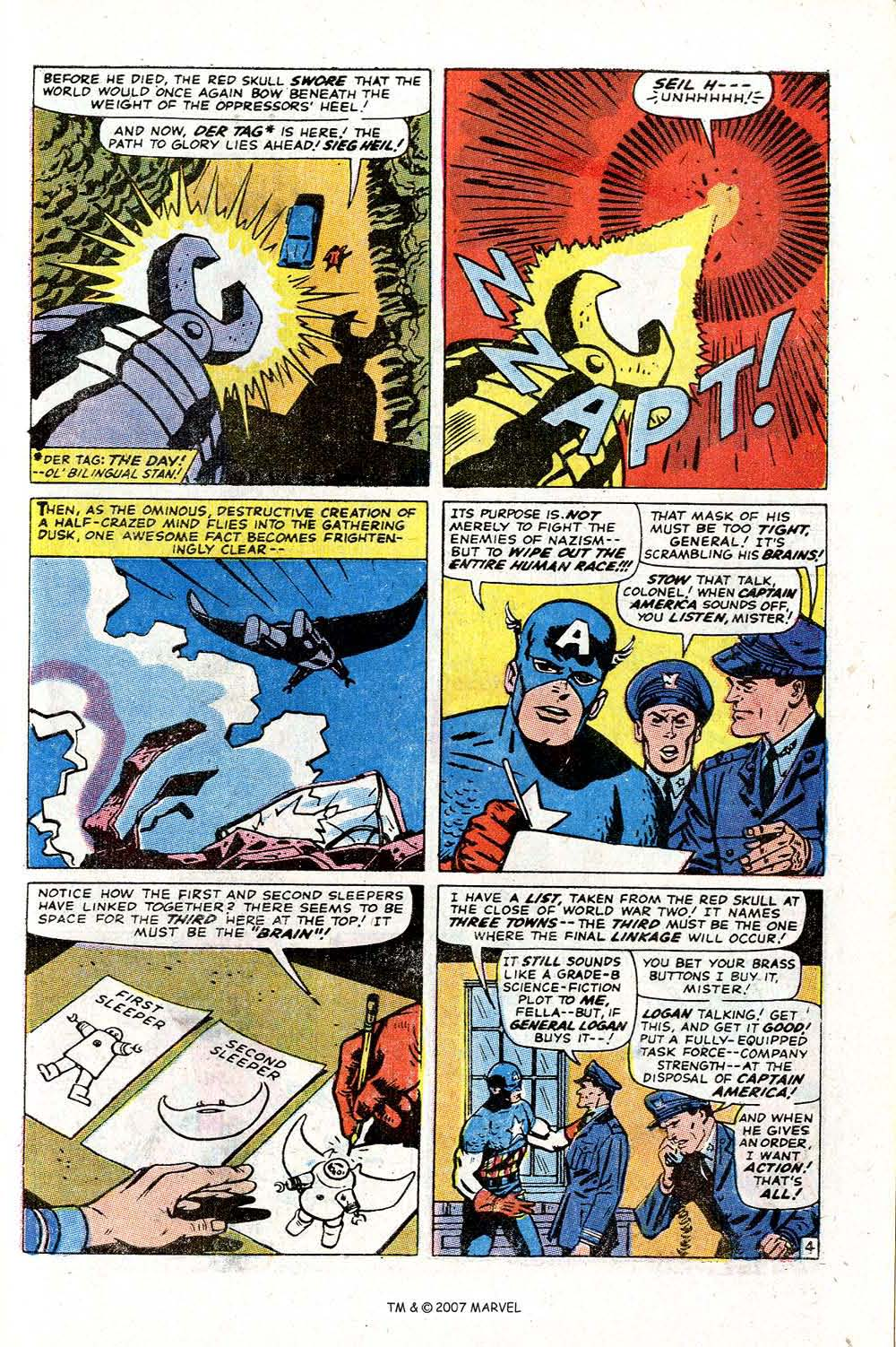 Read online Captain America (1968) comic -  Issue # _Annual 2 - 33