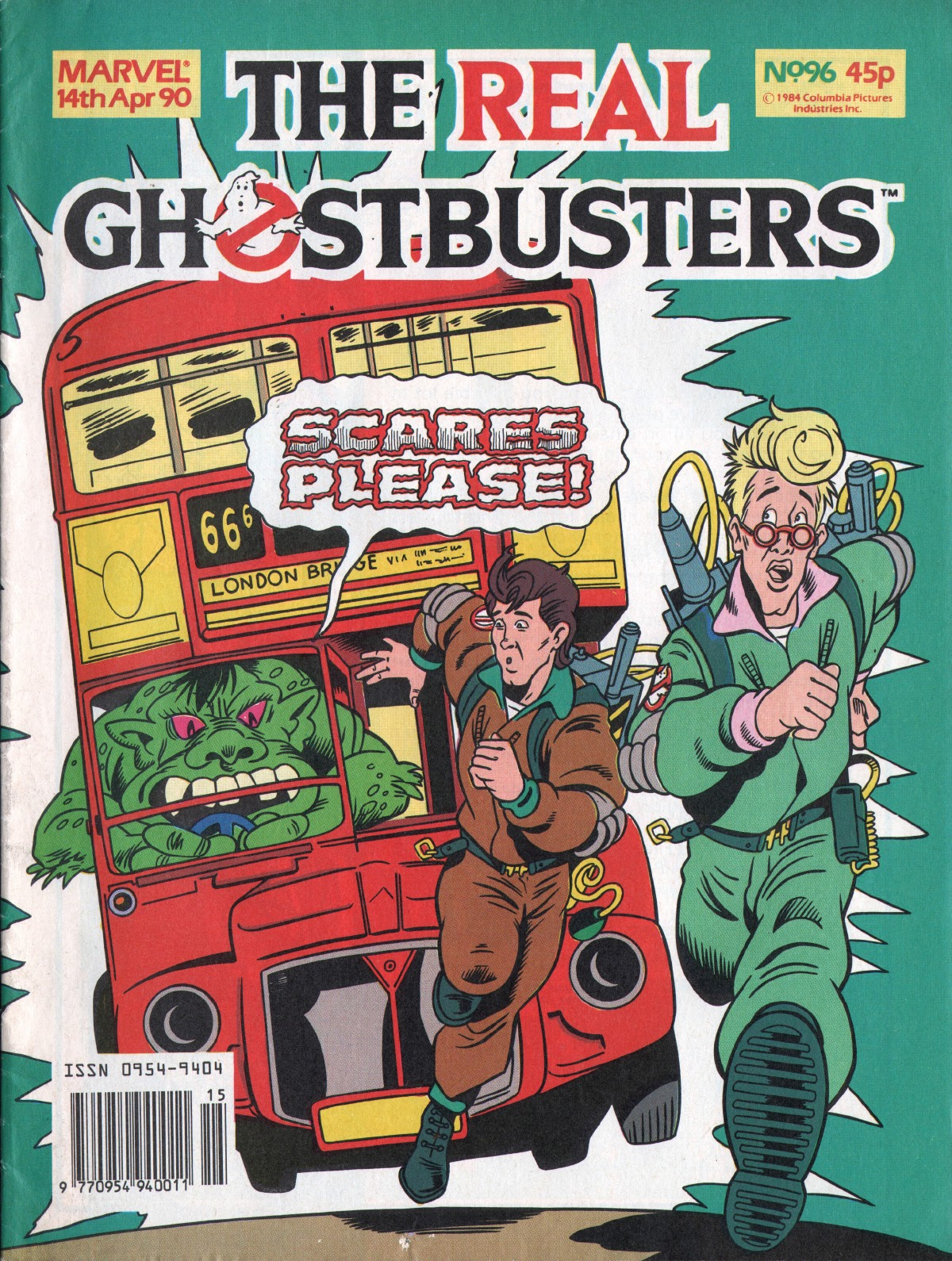 The Real Ghostbusters 96 Page 1