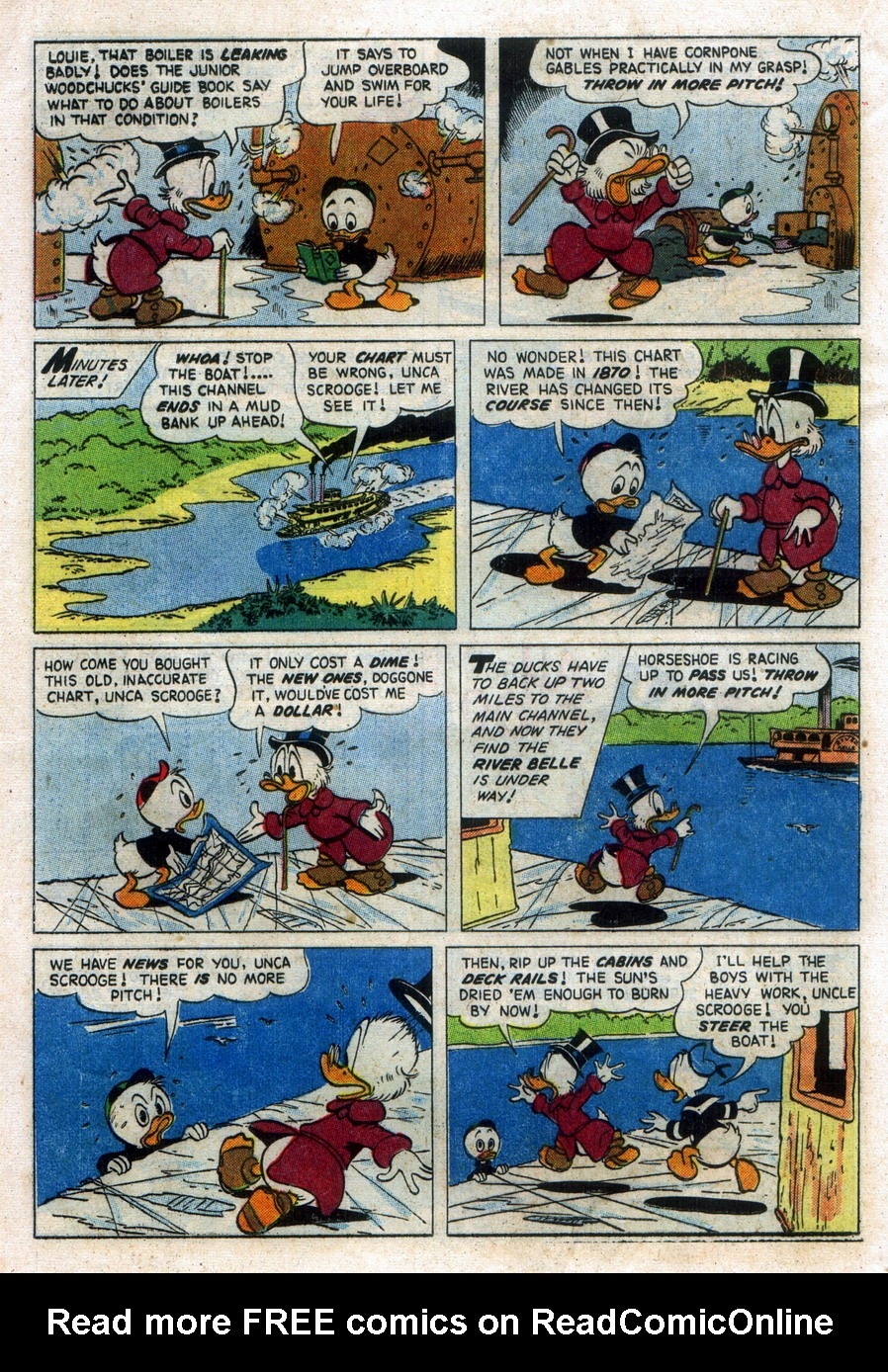Read online Uncle Scrooge (1953) comic -  Issue #11 - 16
