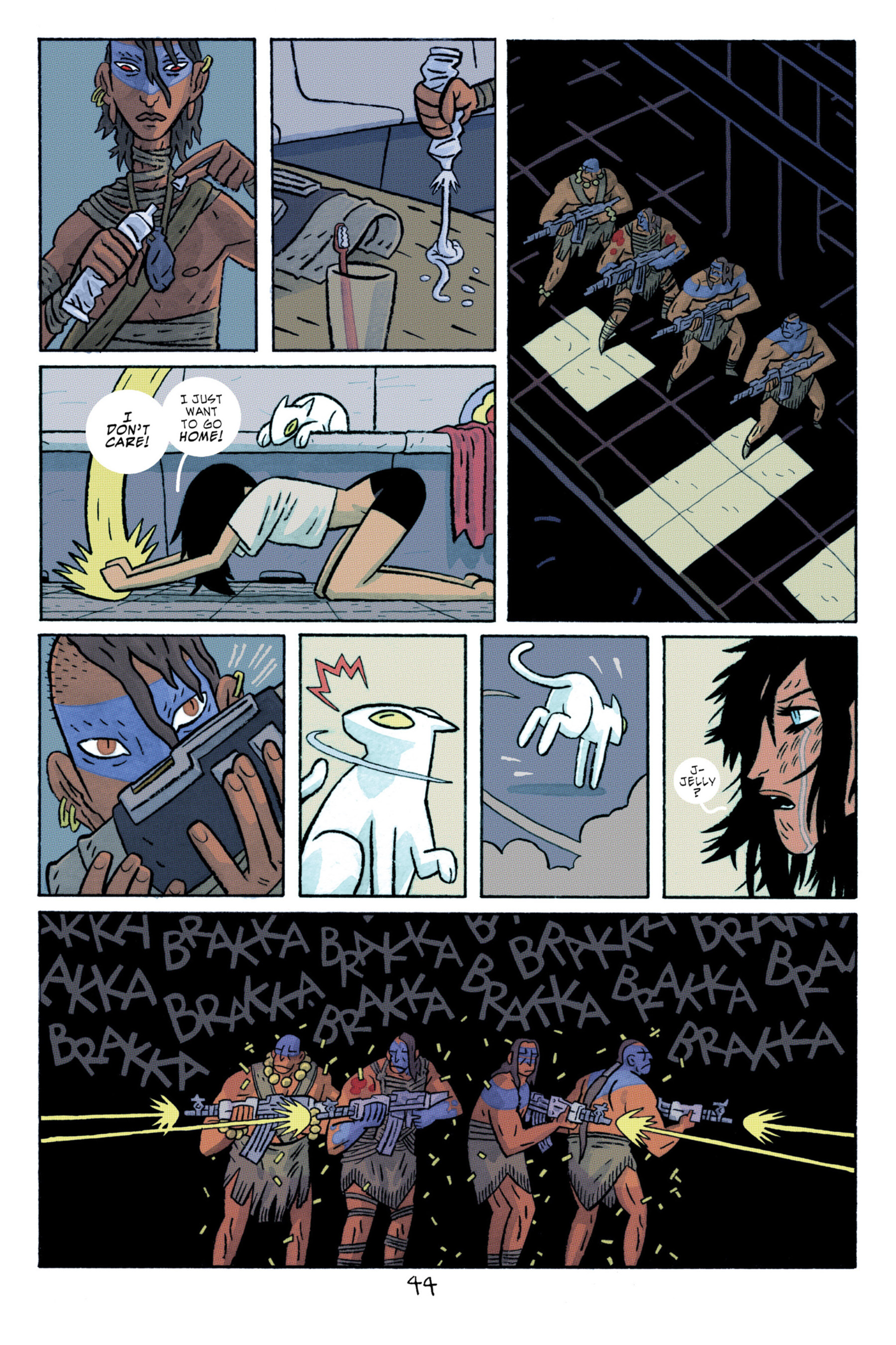 Read online ApocalyptiGirl: An Aria for the End Times comic -  Issue #ApocalyptiGirl: An Aria for the End Times Full - 52