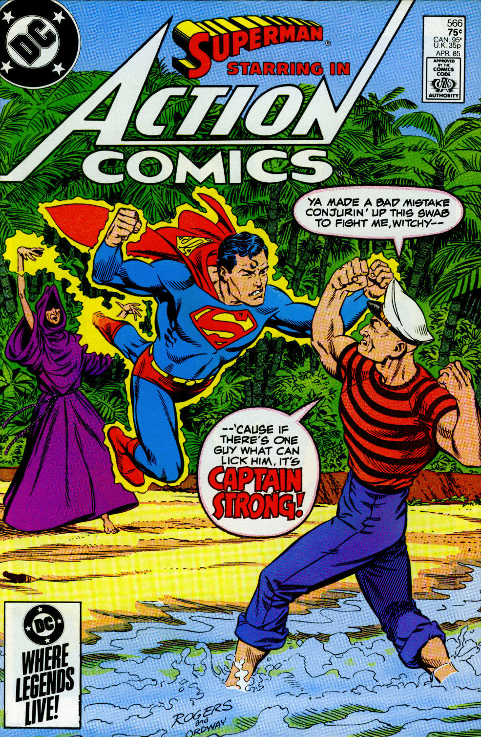 Action Comics (1938) 566 Page 1