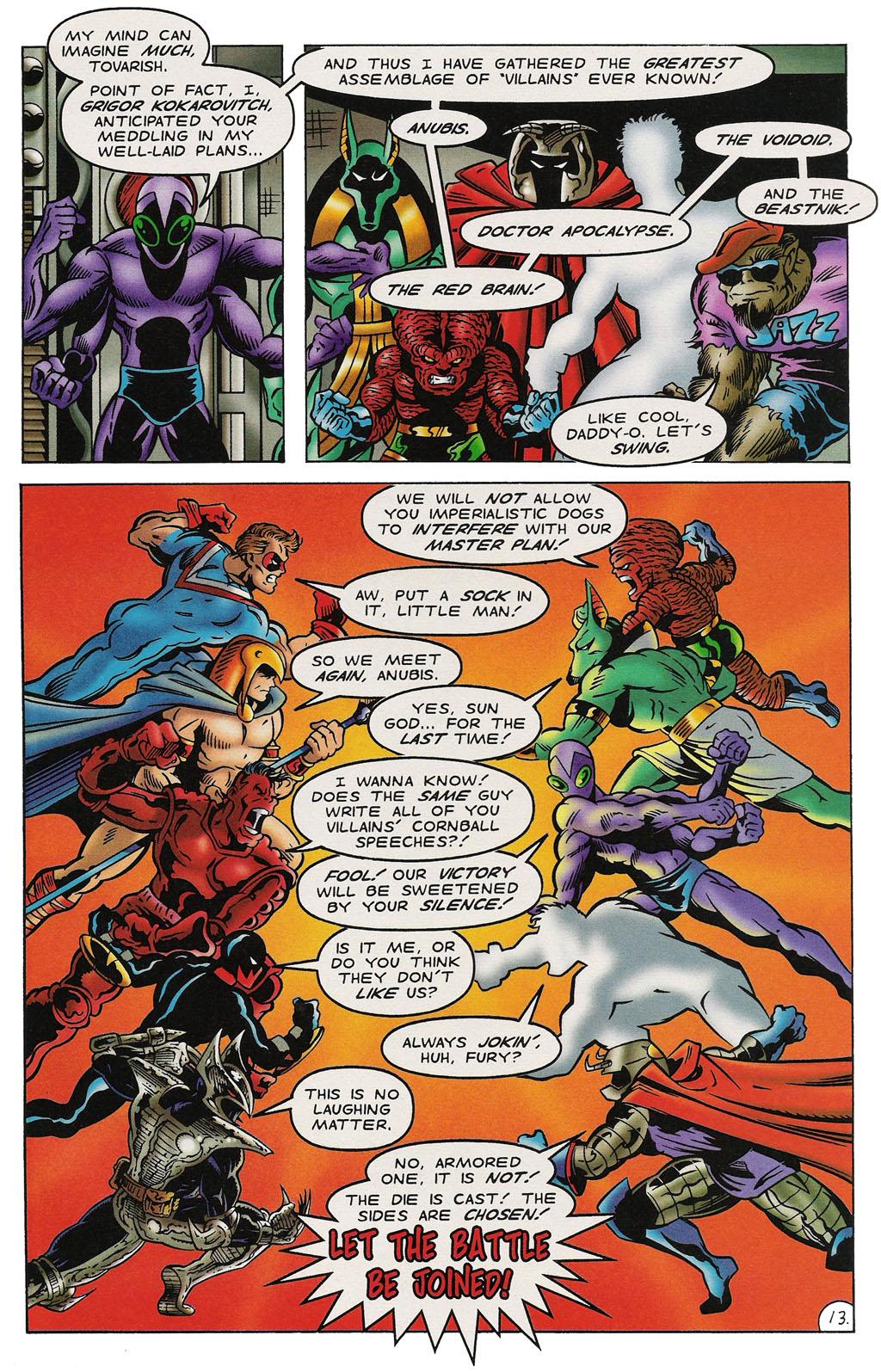 Read online ShadowHawk comic -  Issue #14 - 14