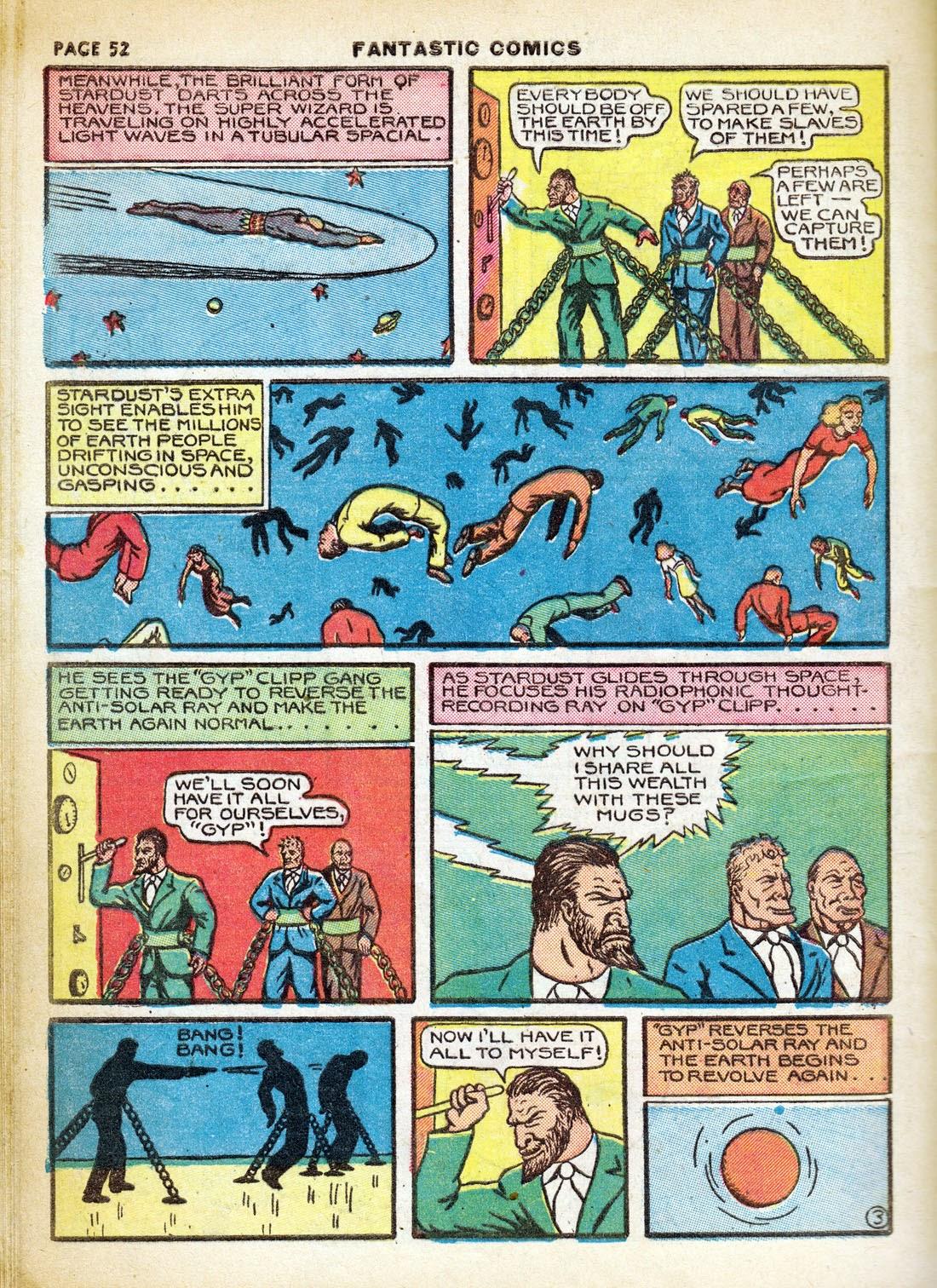 Read online Fantastic Comics comic -  Issue #7 - 54