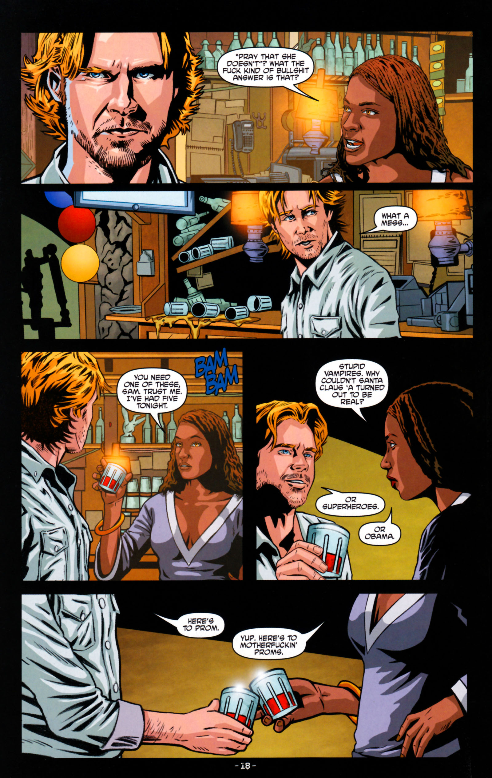Read online True Blood: Tainted Love comic -  Issue #5 - 21