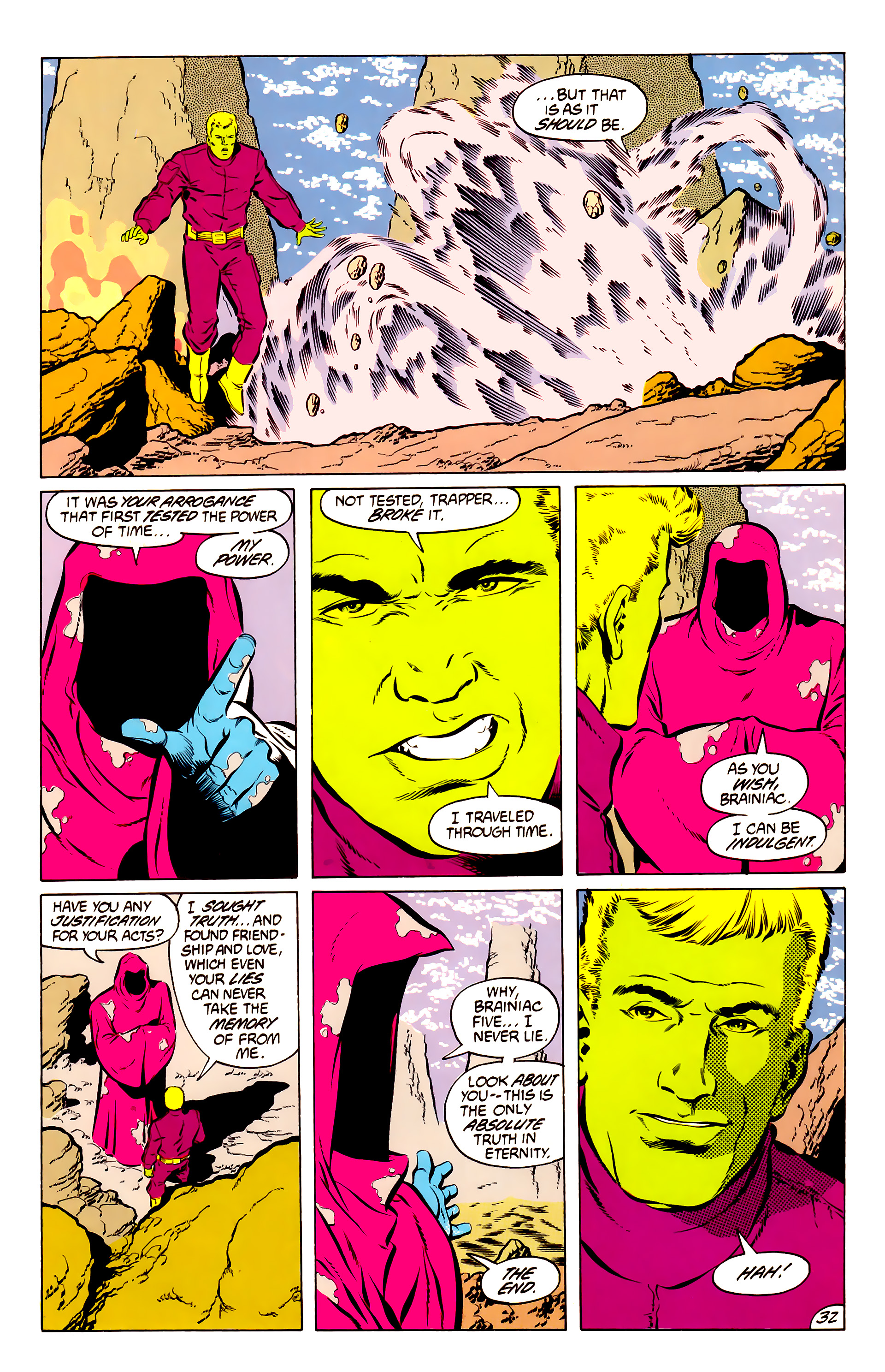 Legion of Super-Heroes (1984) 50 Page 31