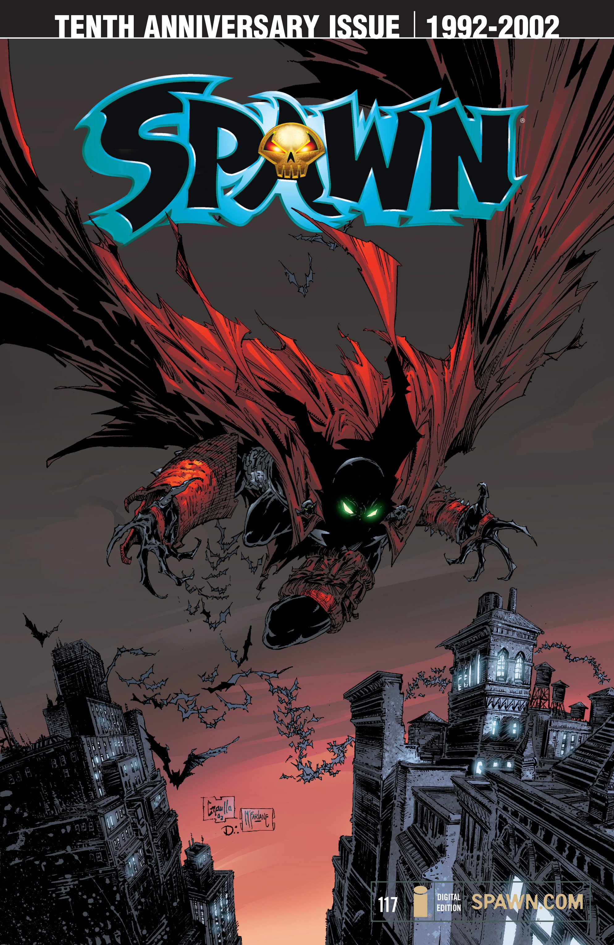 Spawn 117 Page 1