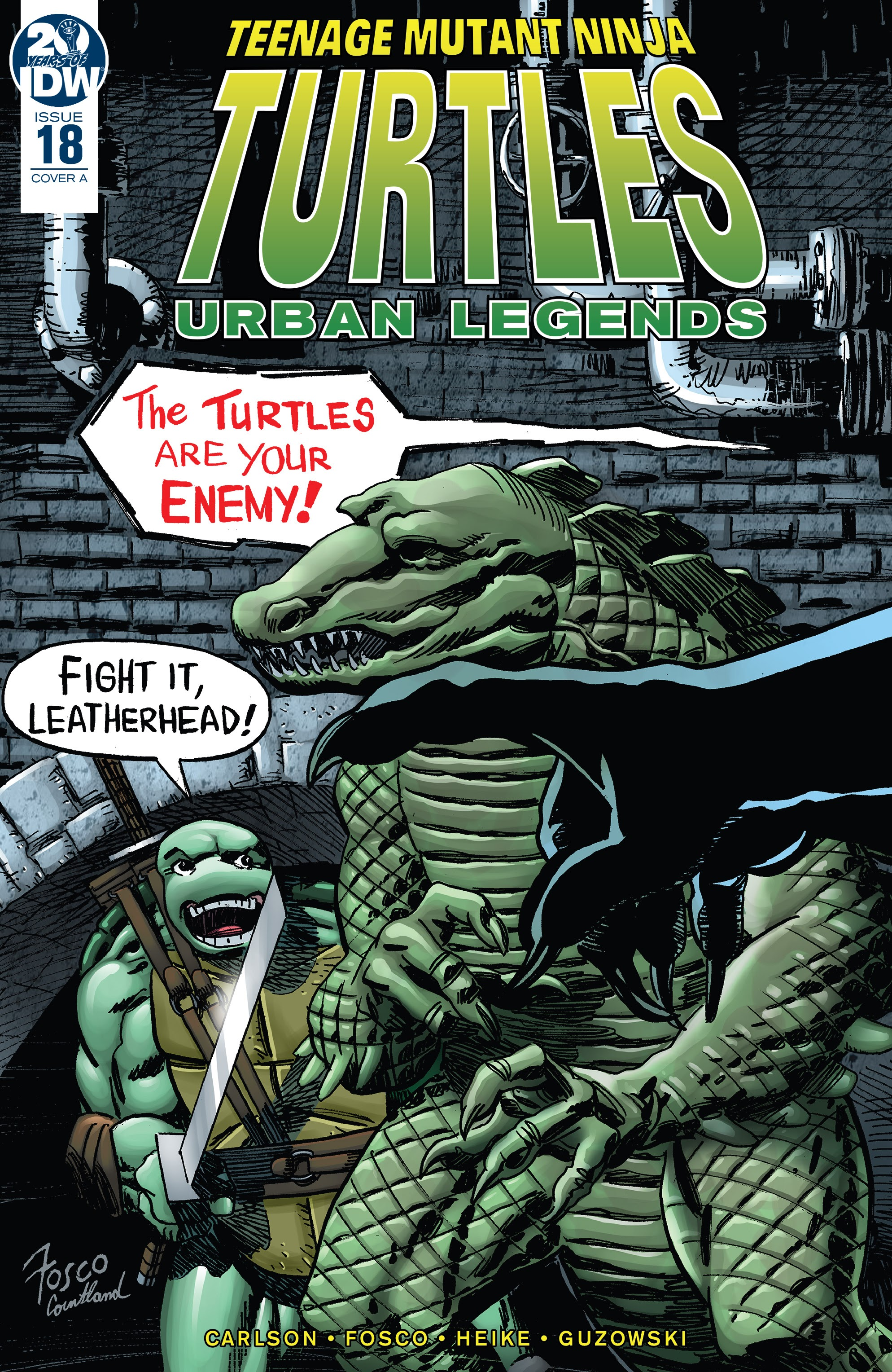 Teenage Mutant Ninja Turtles: Urban Legends 18 Page 1