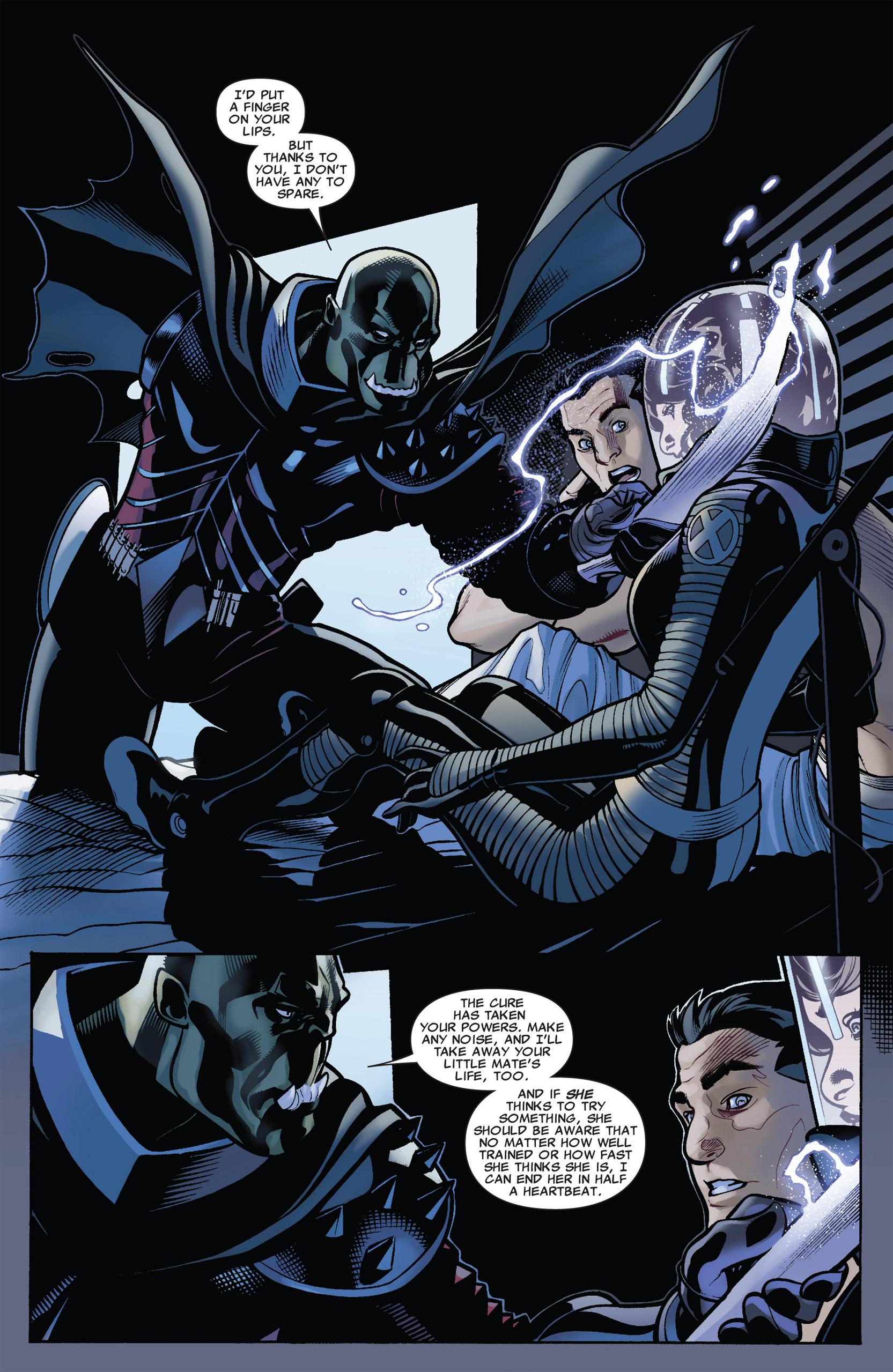 Read online Uncanny X-Men (1963) comic -  Issue #537 - 4