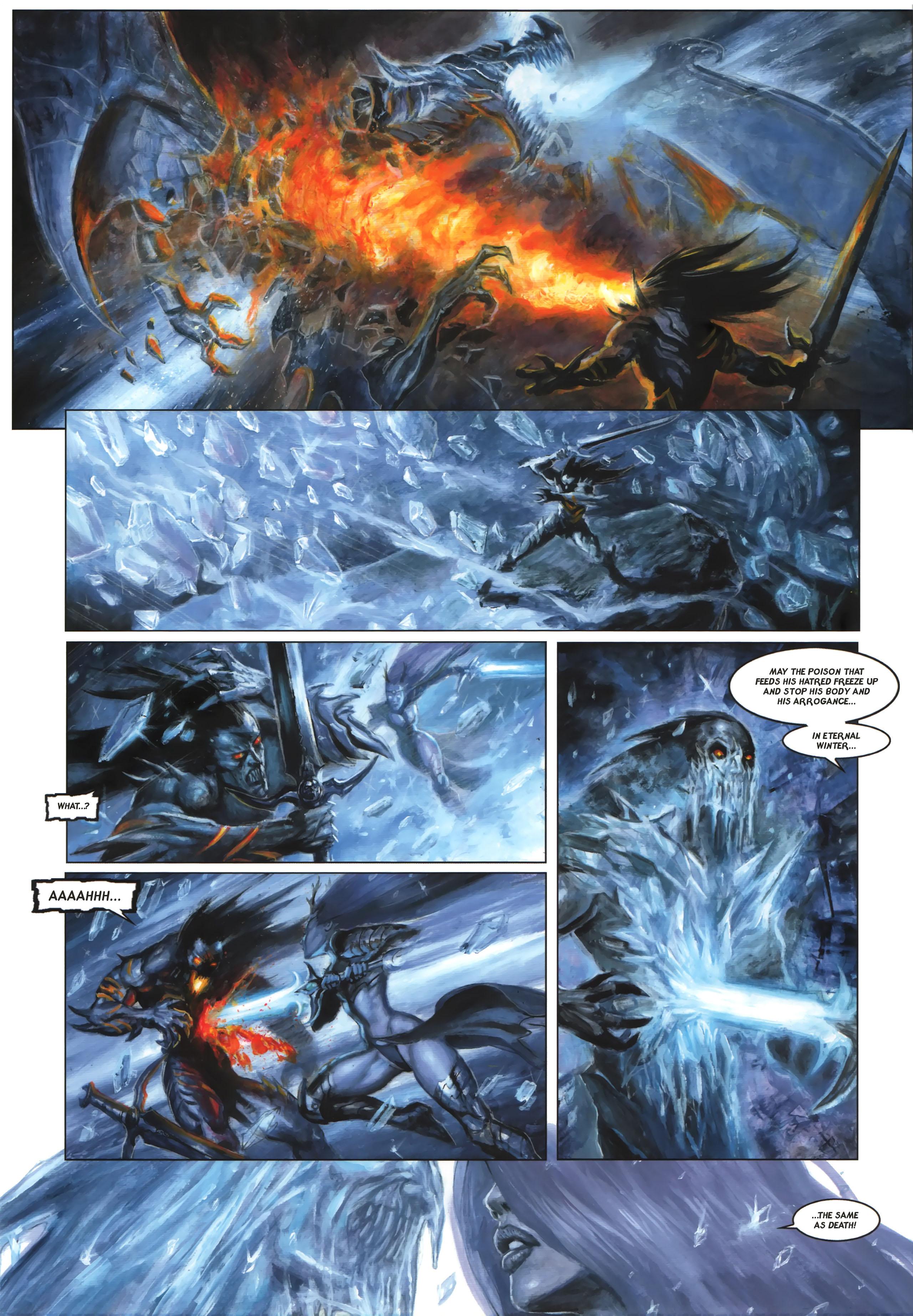 Read online Arawn comic -  Issue #6 - 17