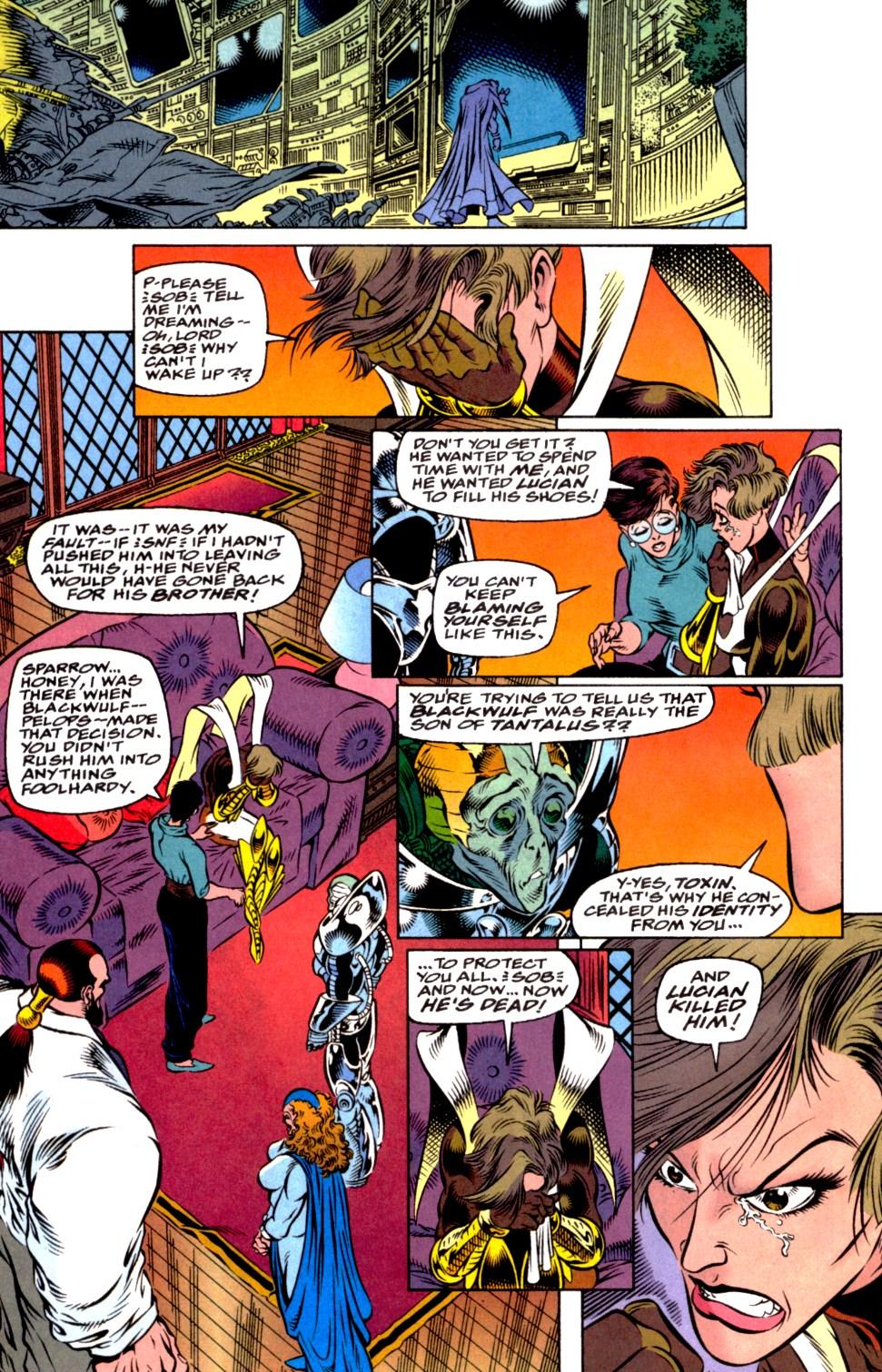 Read online Blackwulf comic -  Issue #2 - 11
