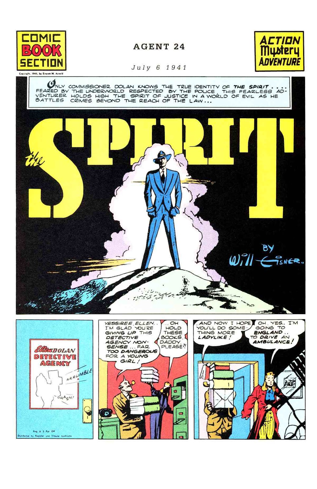 Read online Will Eisner's The Spirit Archives comic -  Issue # TPB 3 (Part 1) - 2
