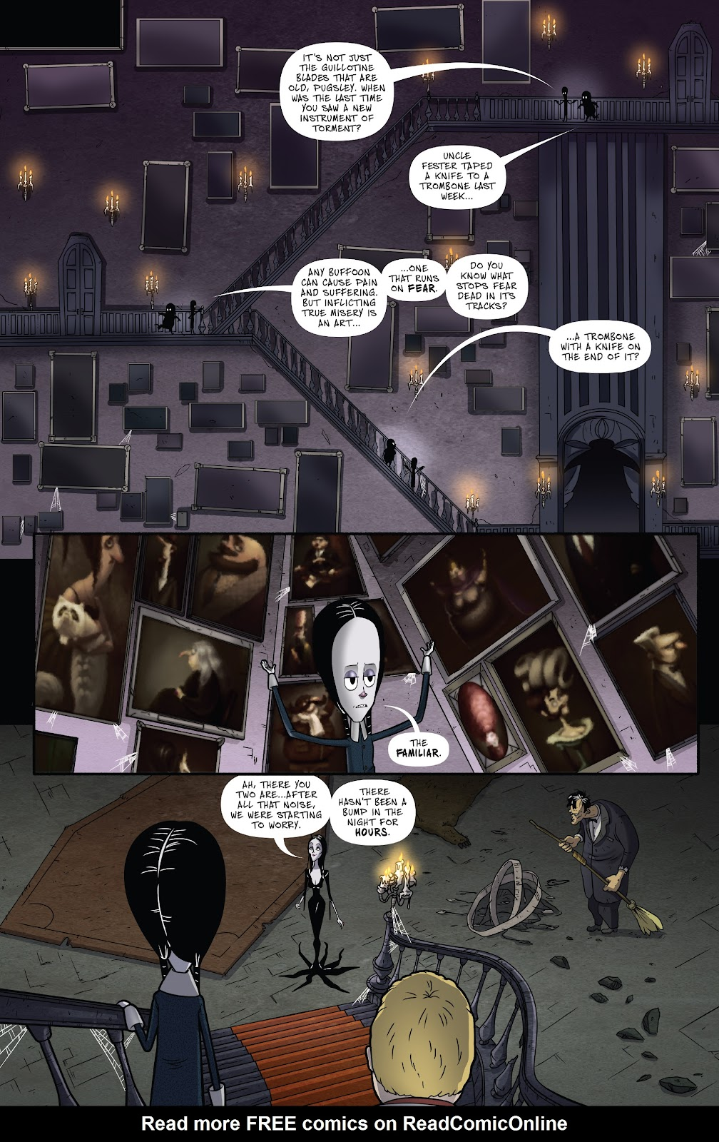 Read online Addams Family: The Bodies Issue comic -  Issue # Full - 7