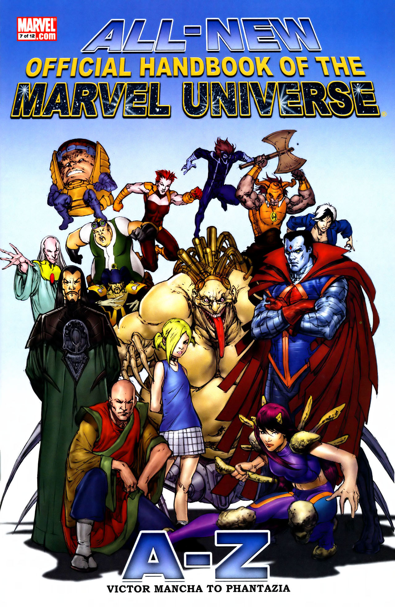 Read online All-New Official Handbook of the Marvel Universe A to Z comic -  Issue #7 - 1