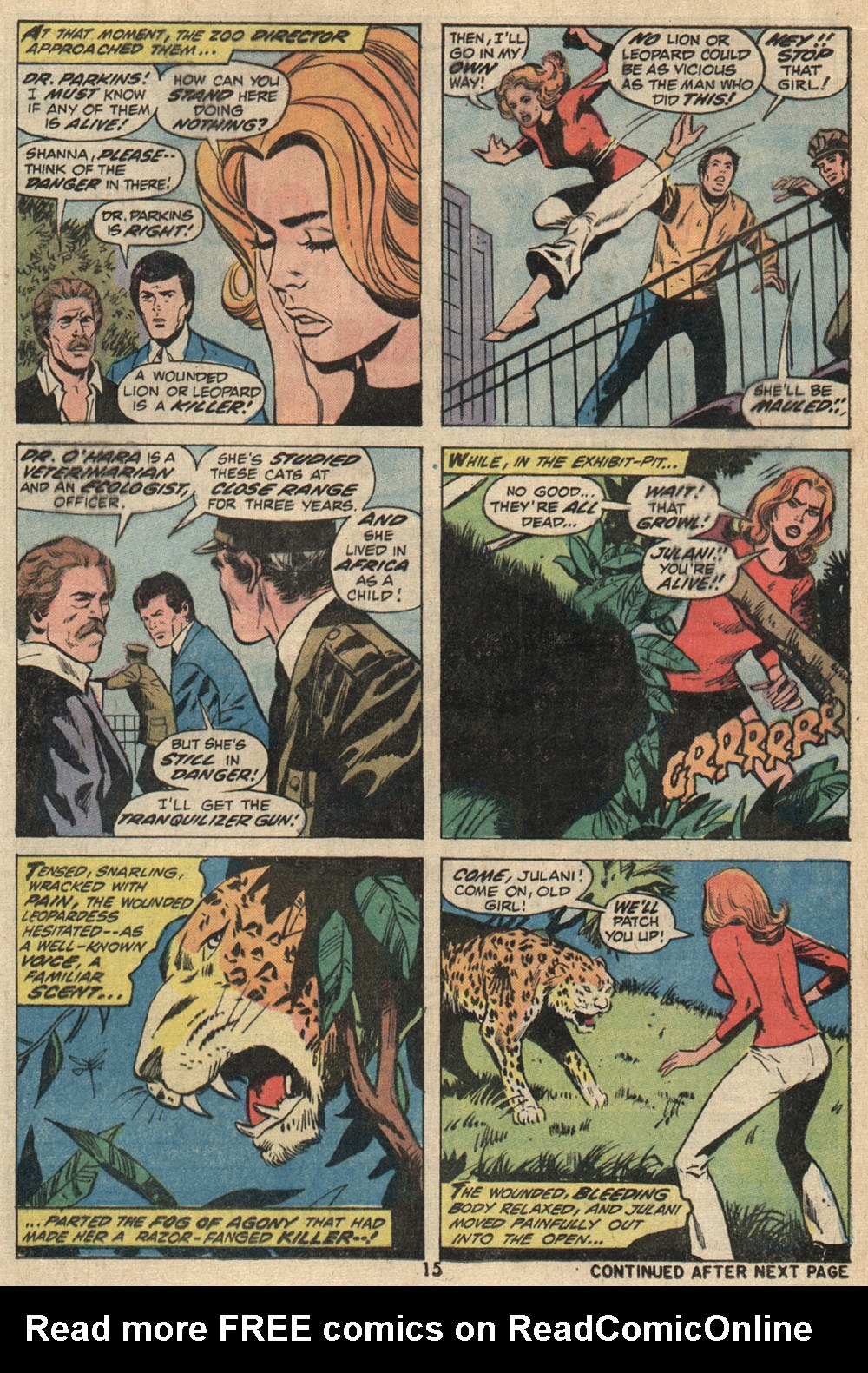 Read online Shanna, the She-Devil (1972) comic -  Issue #1 - 12