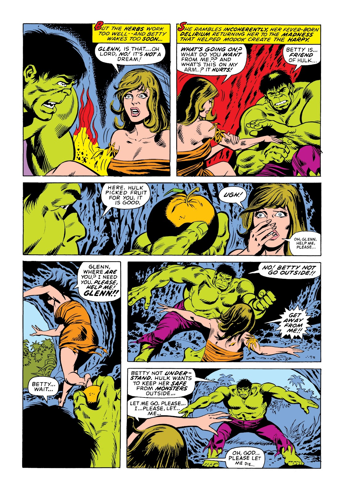 Read online Marvel Masterworks: The Incredible Hulk comic -  Issue # TPB 9 (Part 3) - 87