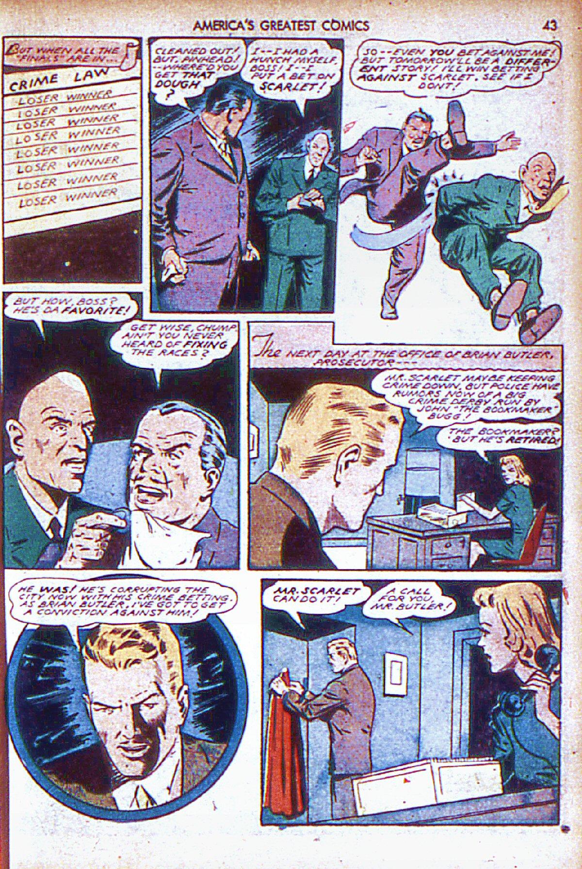 Read online America's Greatest Comics comic -  Issue #6 - 44