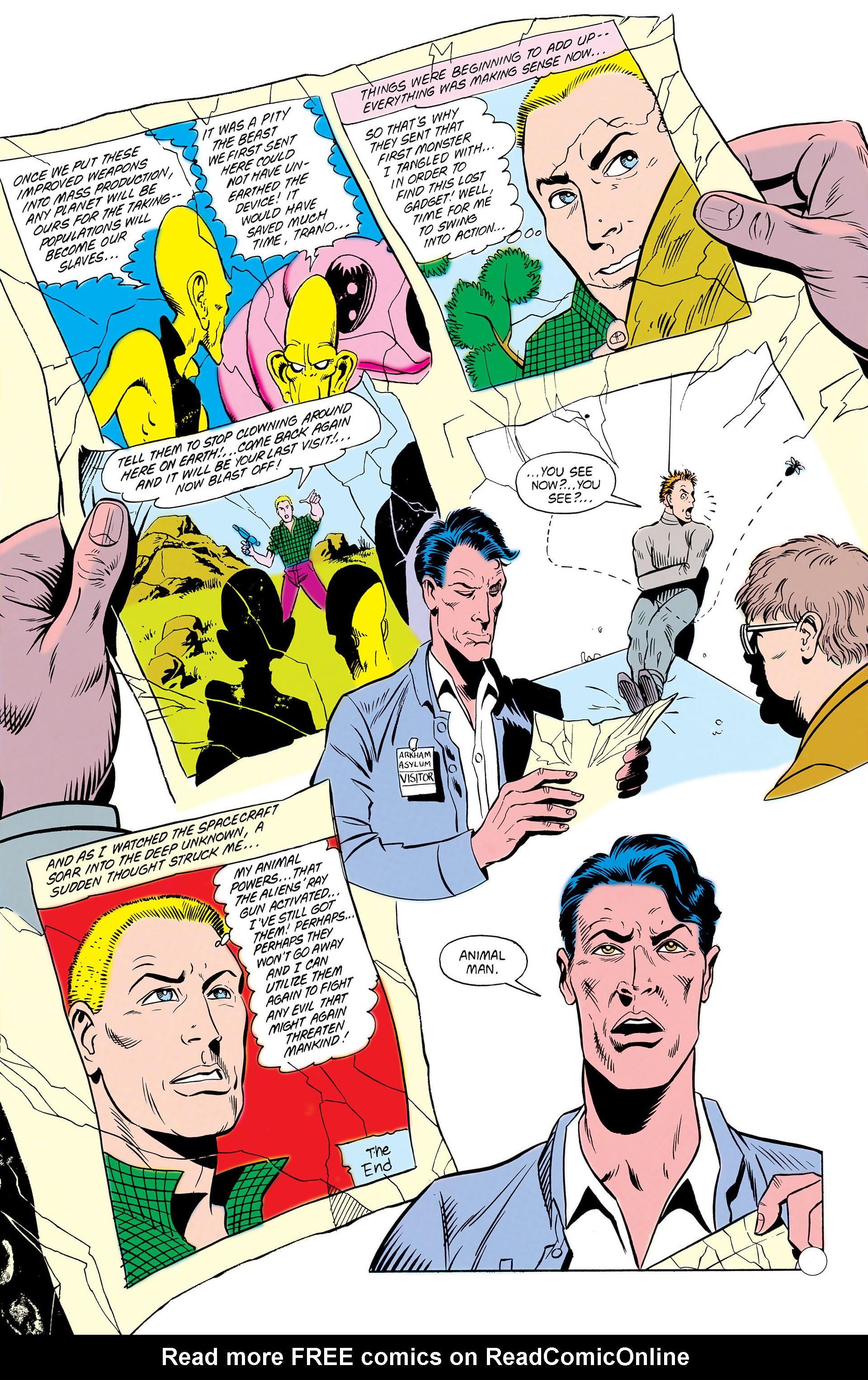 Read online Animal Man (1988) comic -  Issue #10 - 33