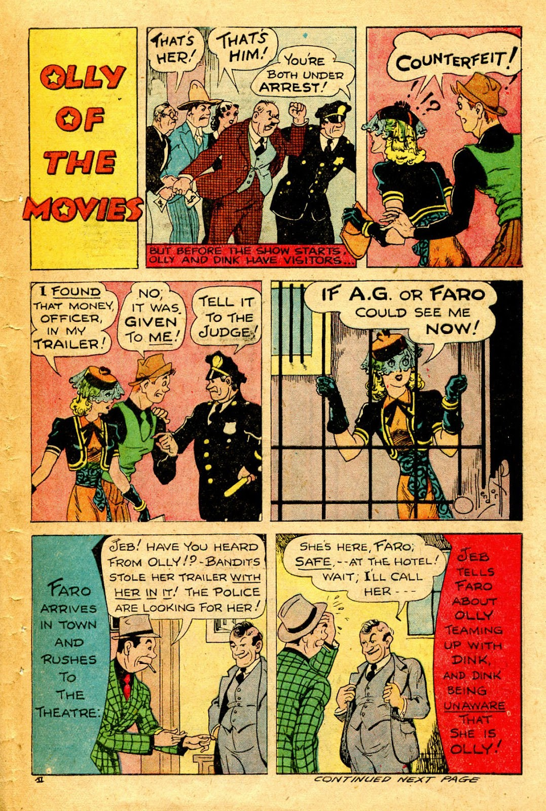 Read online Famous Funnies comic -  Issue #126 - 45