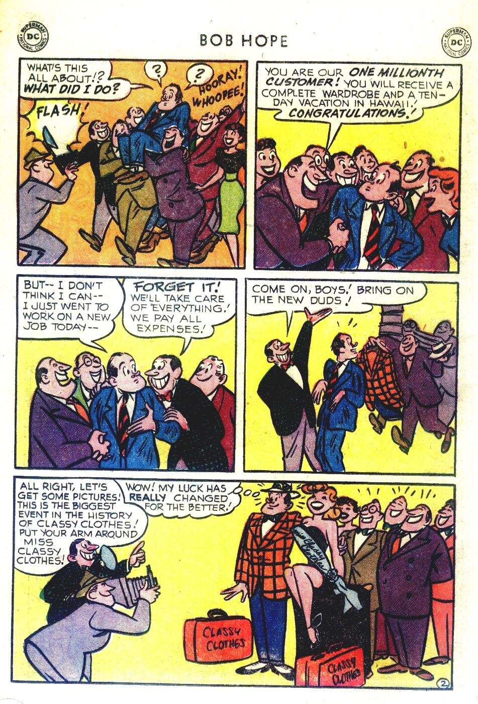 The Adventures of Bob Hope issue 27 - Page 16