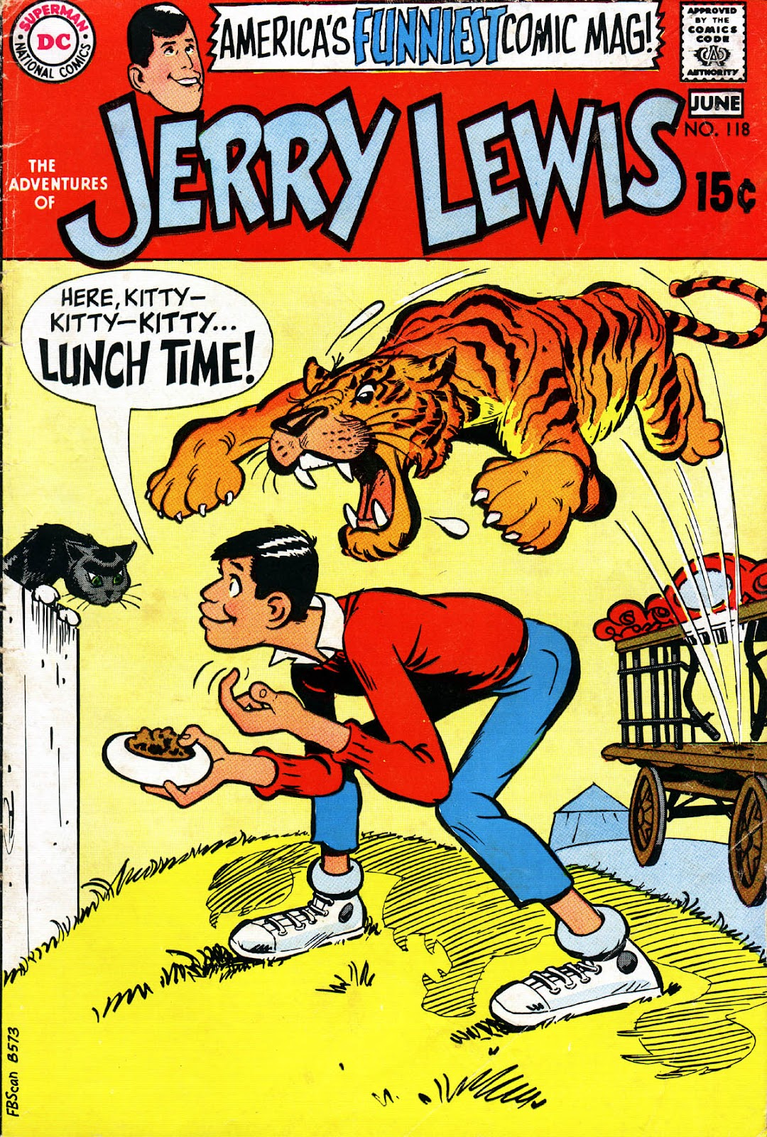 The Adventures of Jerry Lewis issue 118 - Page 1