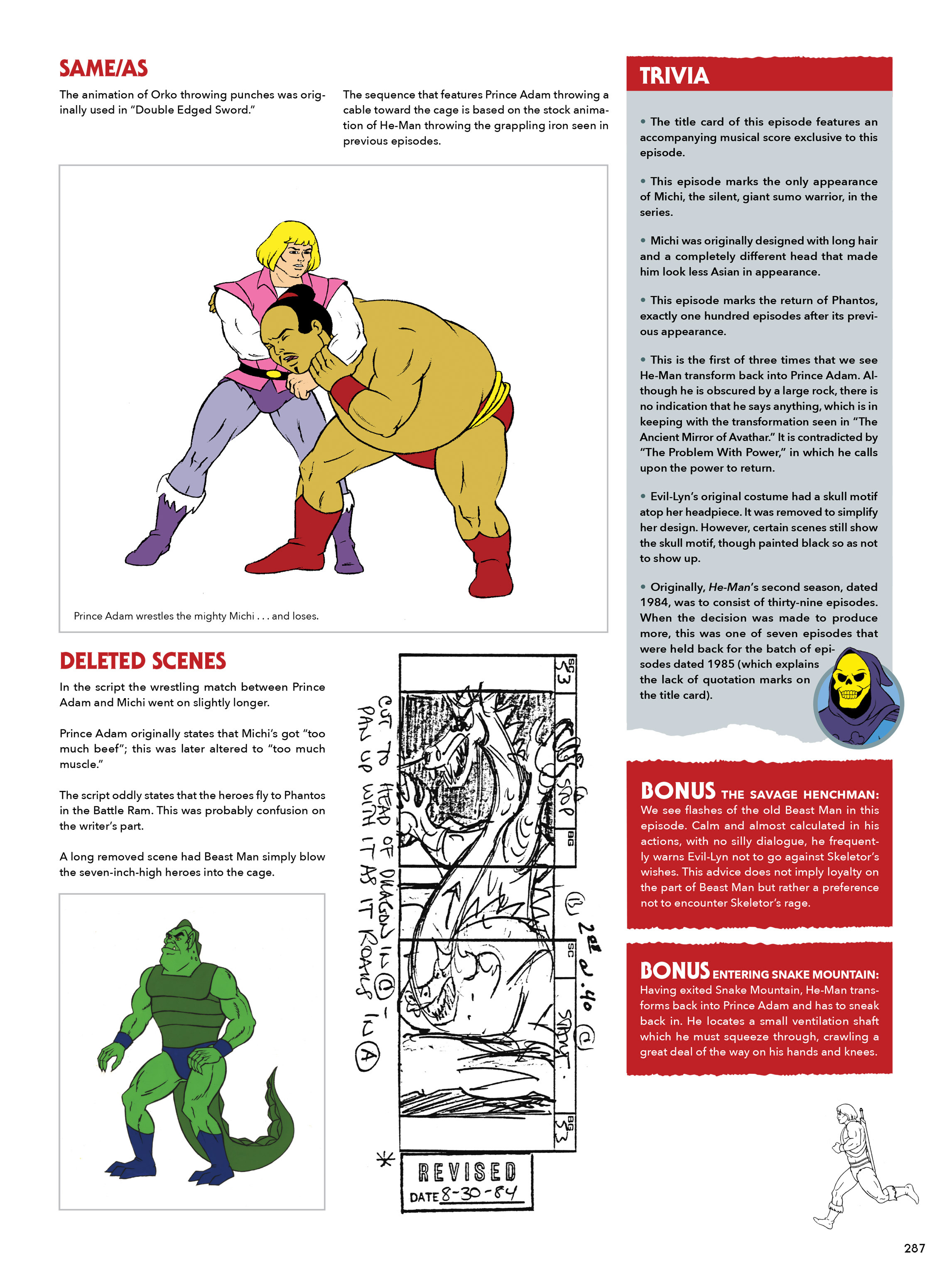 Read online He-Man and She-Ra: A Complete Guide to the Classic Animated Adventures comic -  Issue # TPB (Part 2) - 88
