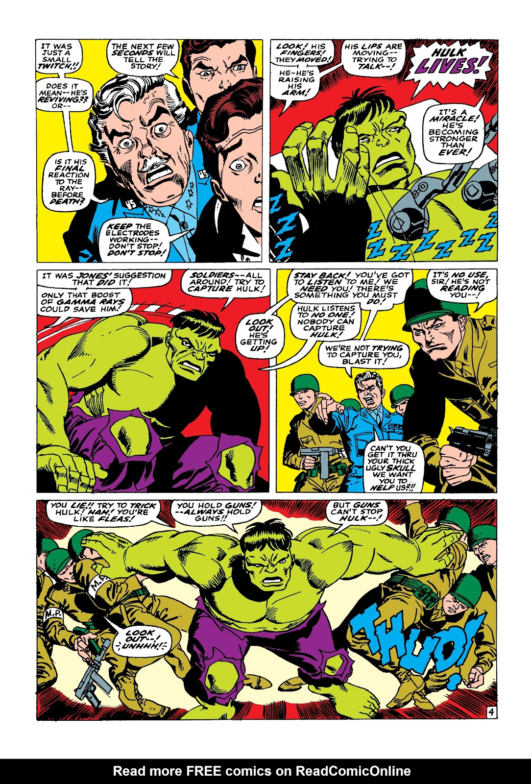 Read online Marvel Masterworks: The Incredible Hulk comic -  Issue # TPB 3 (Part 2) - 32