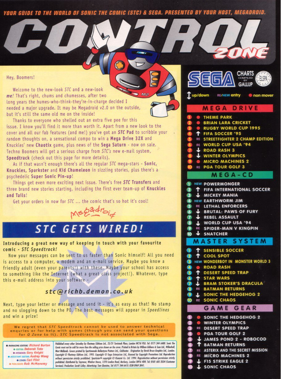 Read online Sonic the Comic comic -  Issue #58 - 2