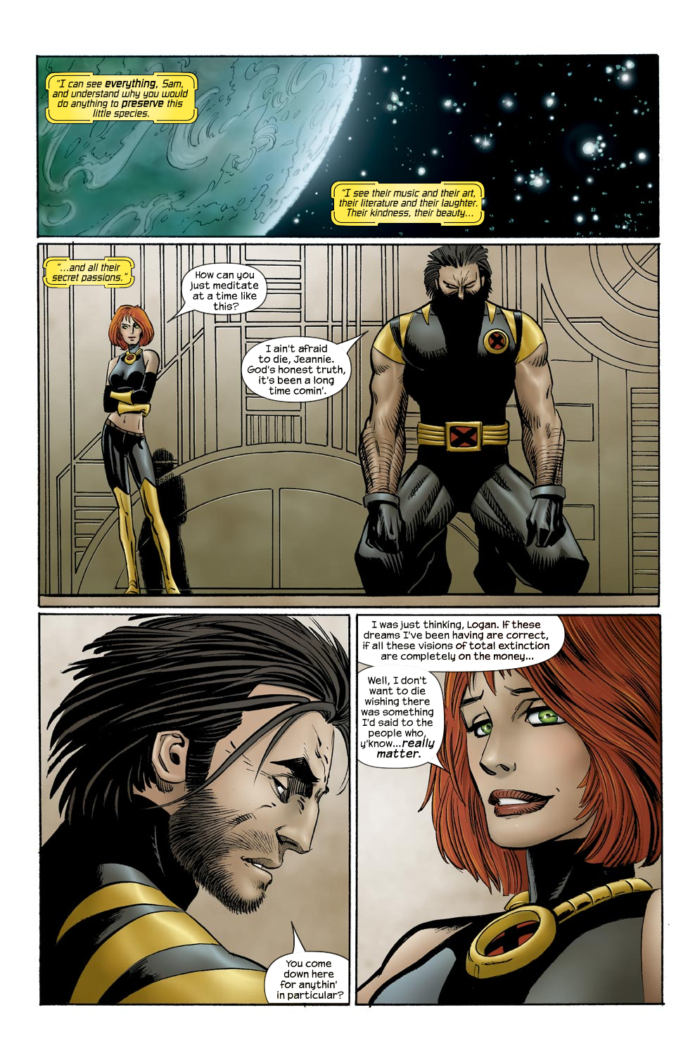 Read online Ultimate Vision comic -  Issue #0 - 21
