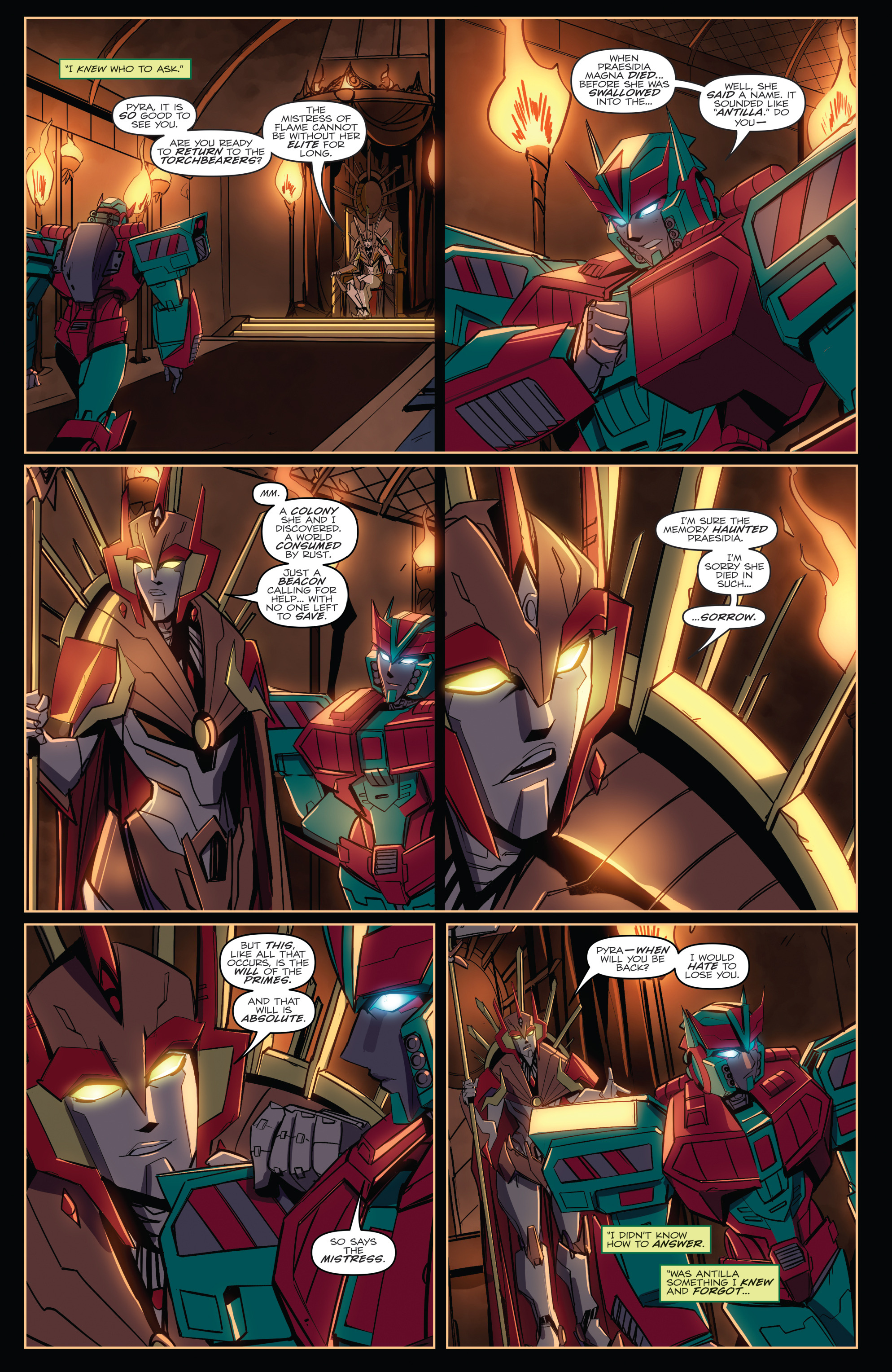 Read online Transformers Annual comic -  Issue # Full - 34