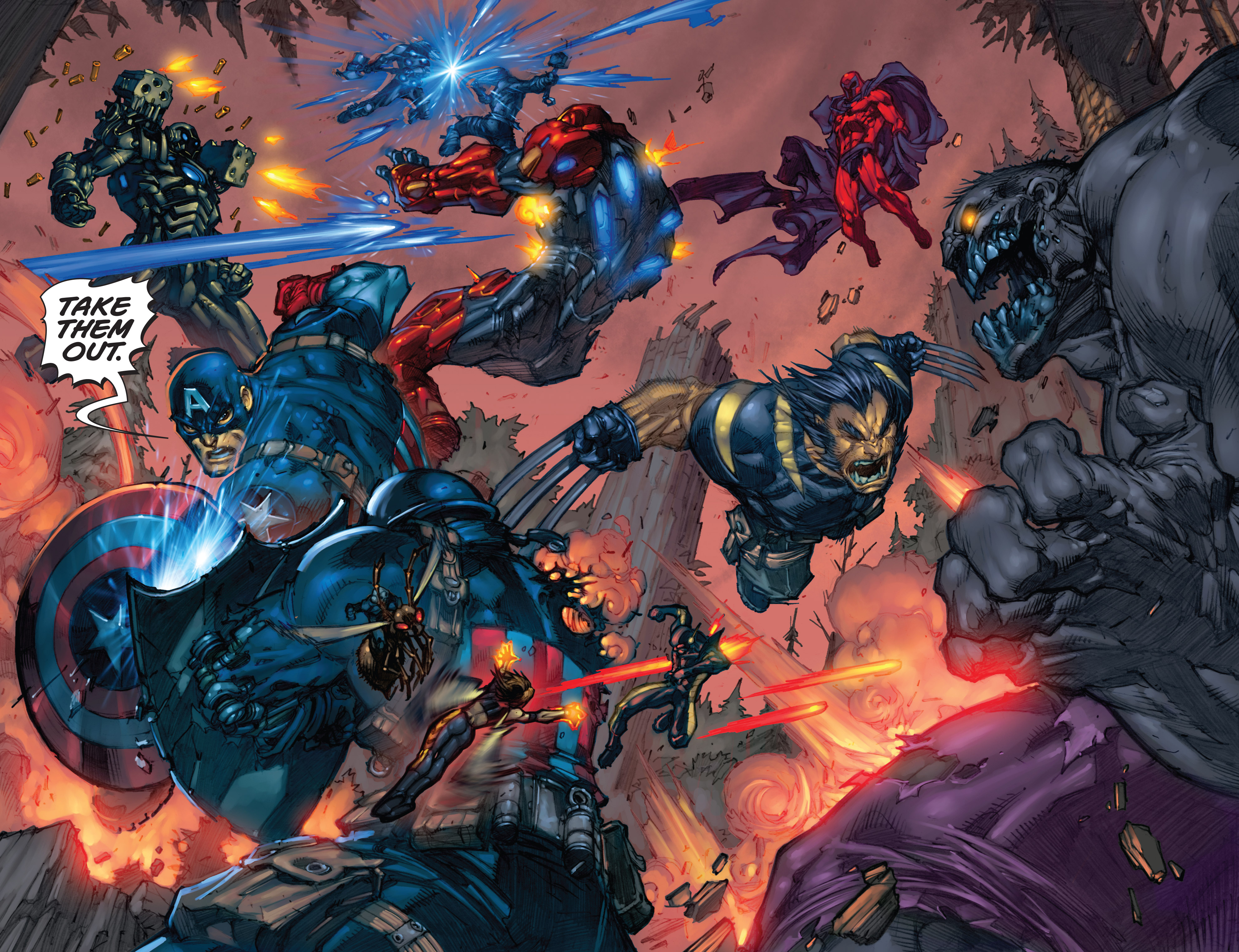 Read online Ultimates 3 comic -  Issue #5 - 16