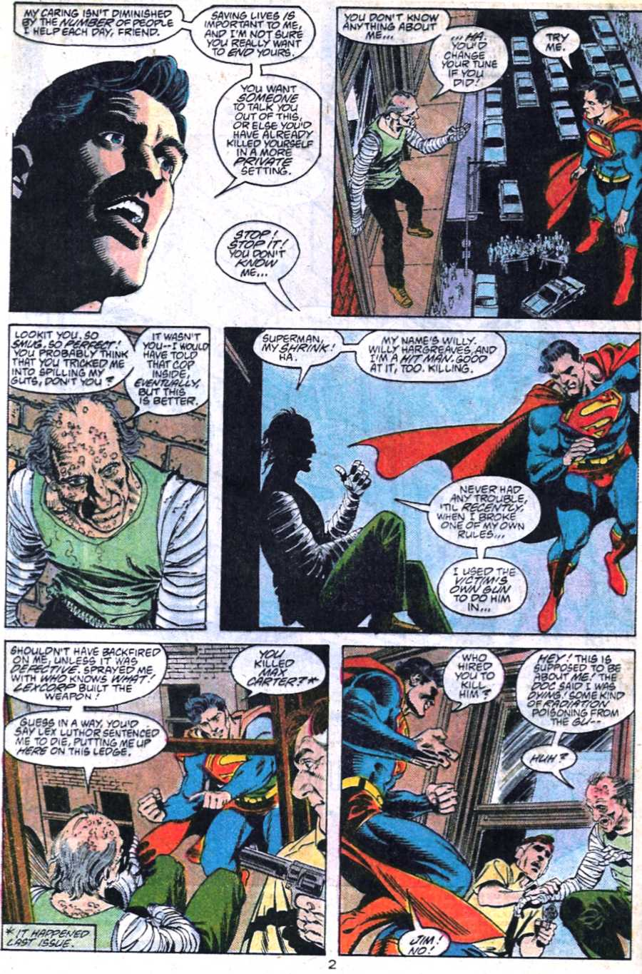 Read online Adventures of Superman (1987) comic -  Issue #448 - 3
