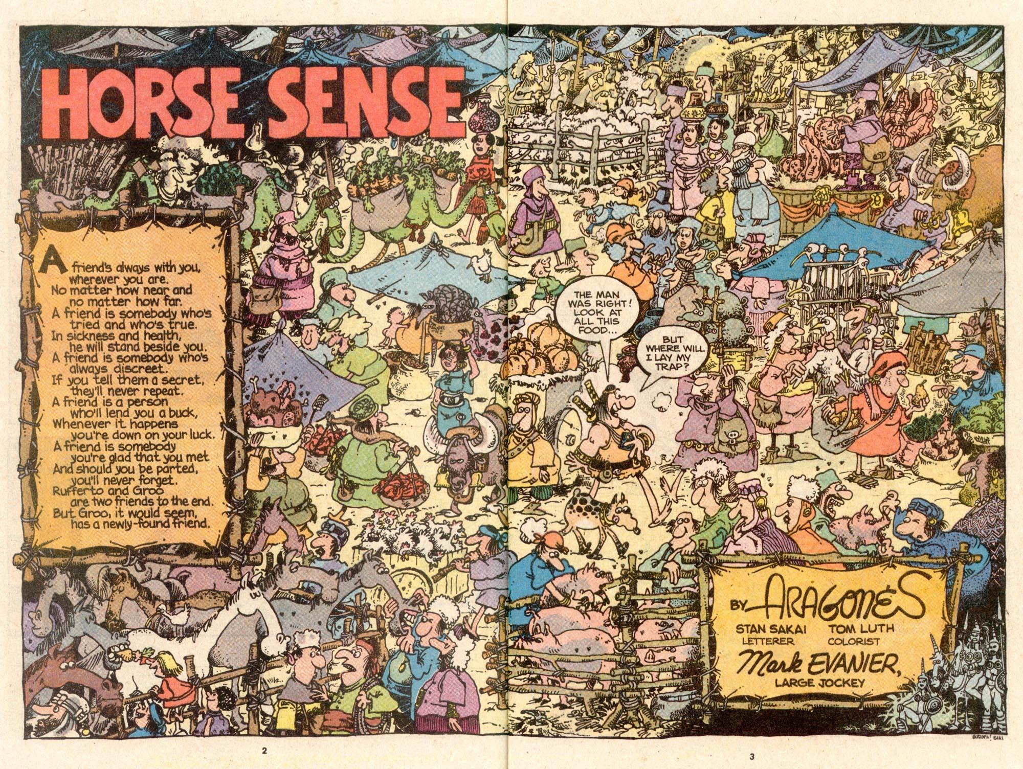 Read online Sergio Aragonés Groo the Wanderer comic -  Issue #62 - 3