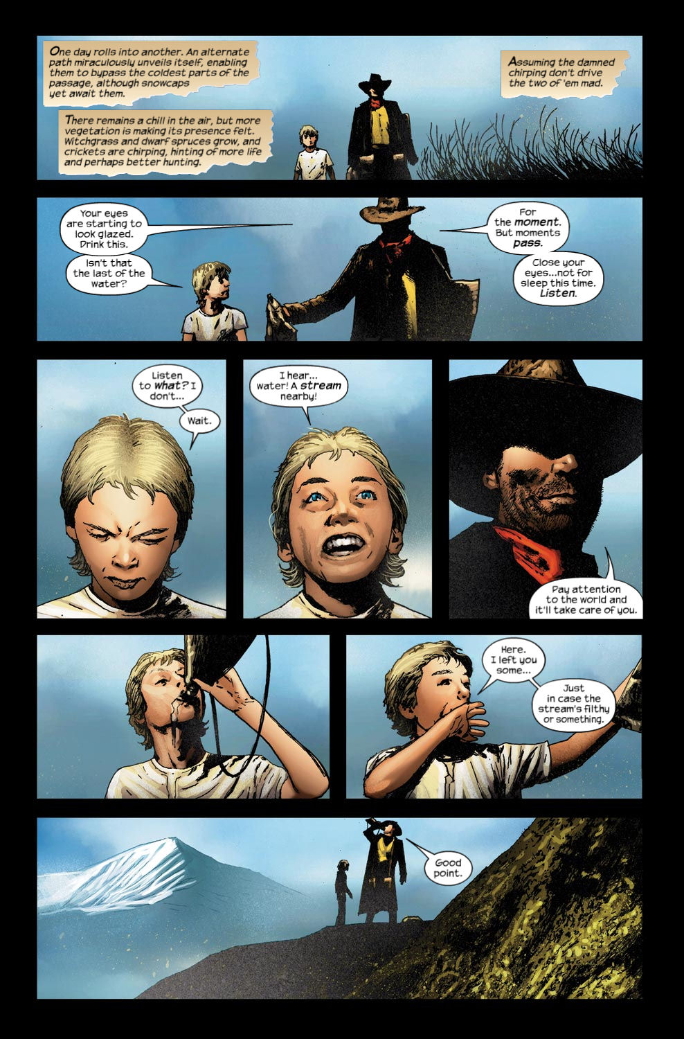 Read online Dark Tower: The Gunslinger - The Way Station comic -  Issue #4 - 8