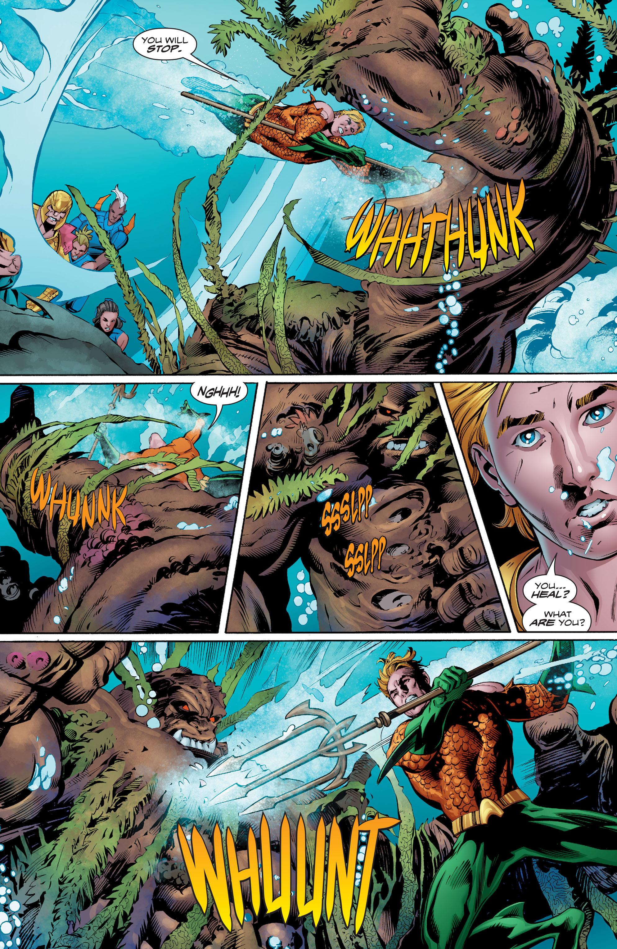 Read online Aquaman (2016) comic -  Issue #8 - 12