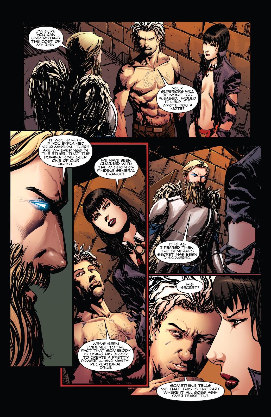 Read online Vampirella Strikes comic -  Issue #5 - 12