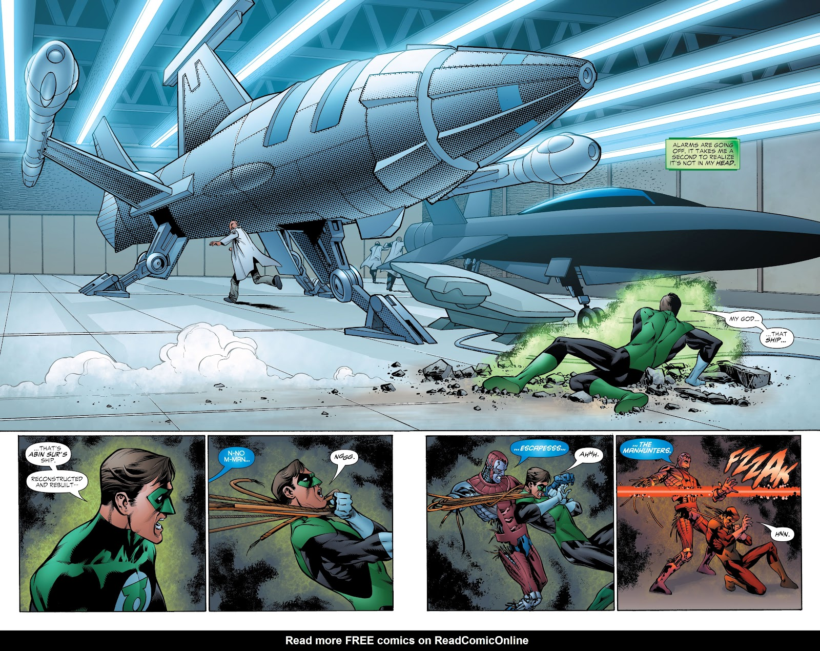 Read online Green Lantern by Geoff Johns comic -  Issue # TPB 1 (Part 4) - 42