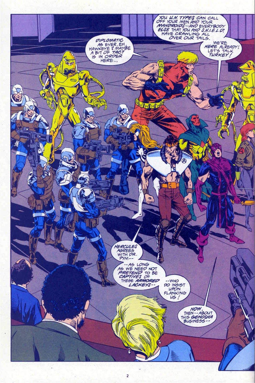 Avengers West Coast (1989) 101 Page 2