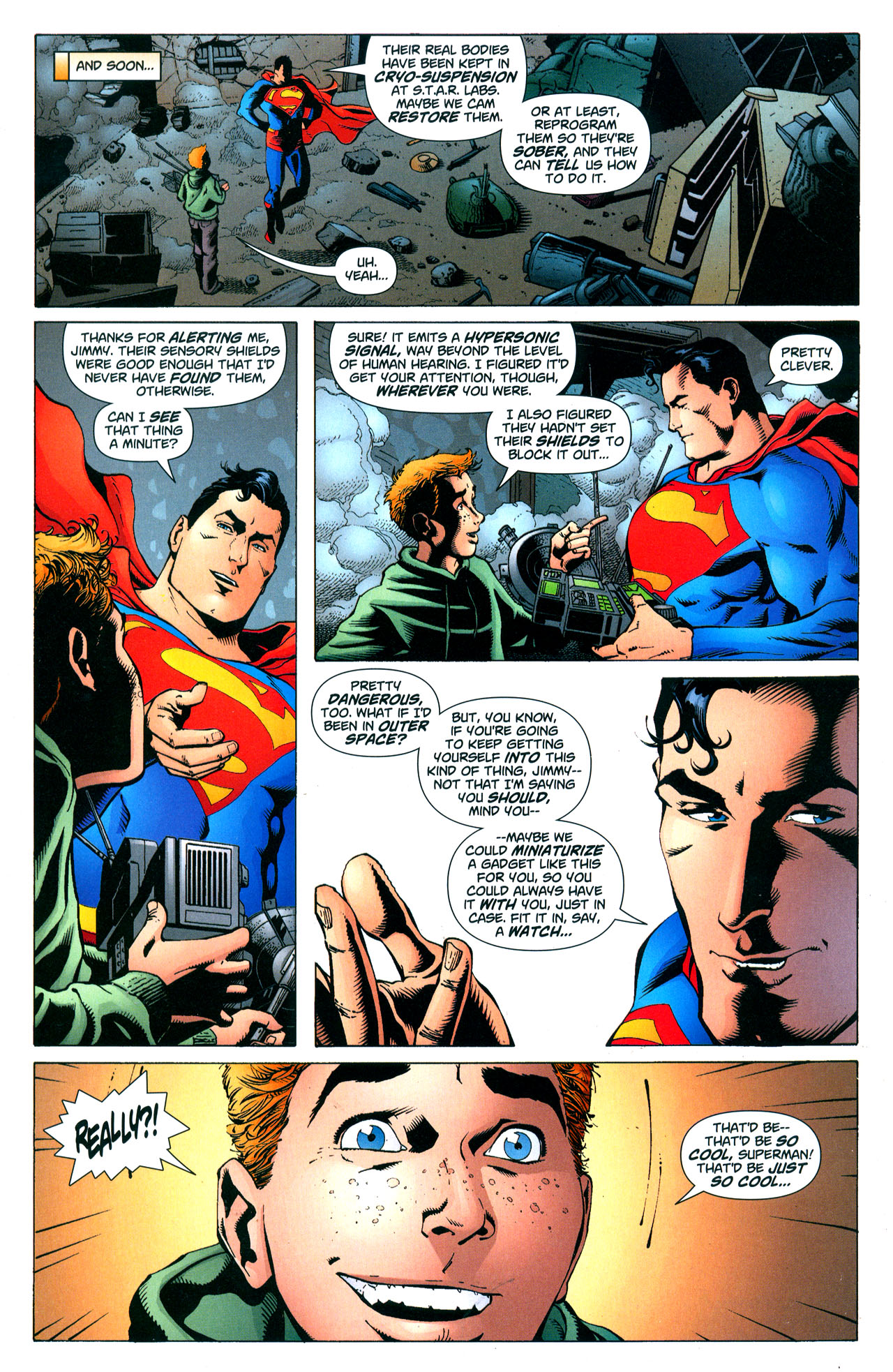 Read online Action Comics (1938) comic -  Issue #852 - 16