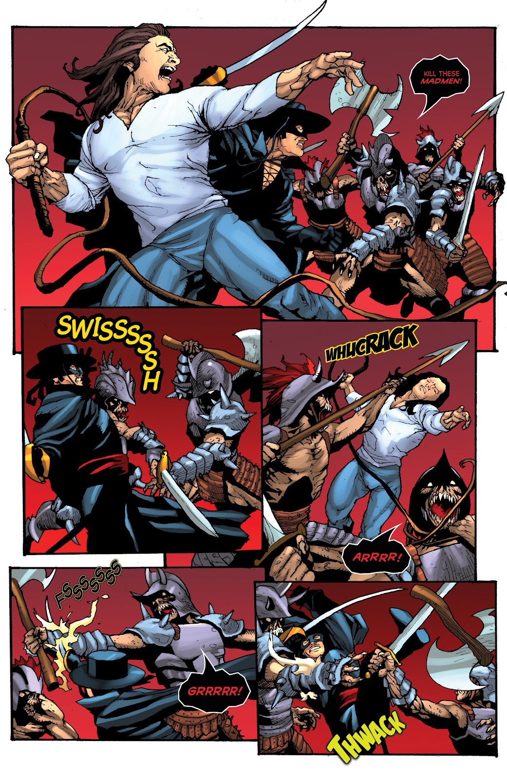 Read online Zorro: Swords of Hell comic -  Issue #3 - 12