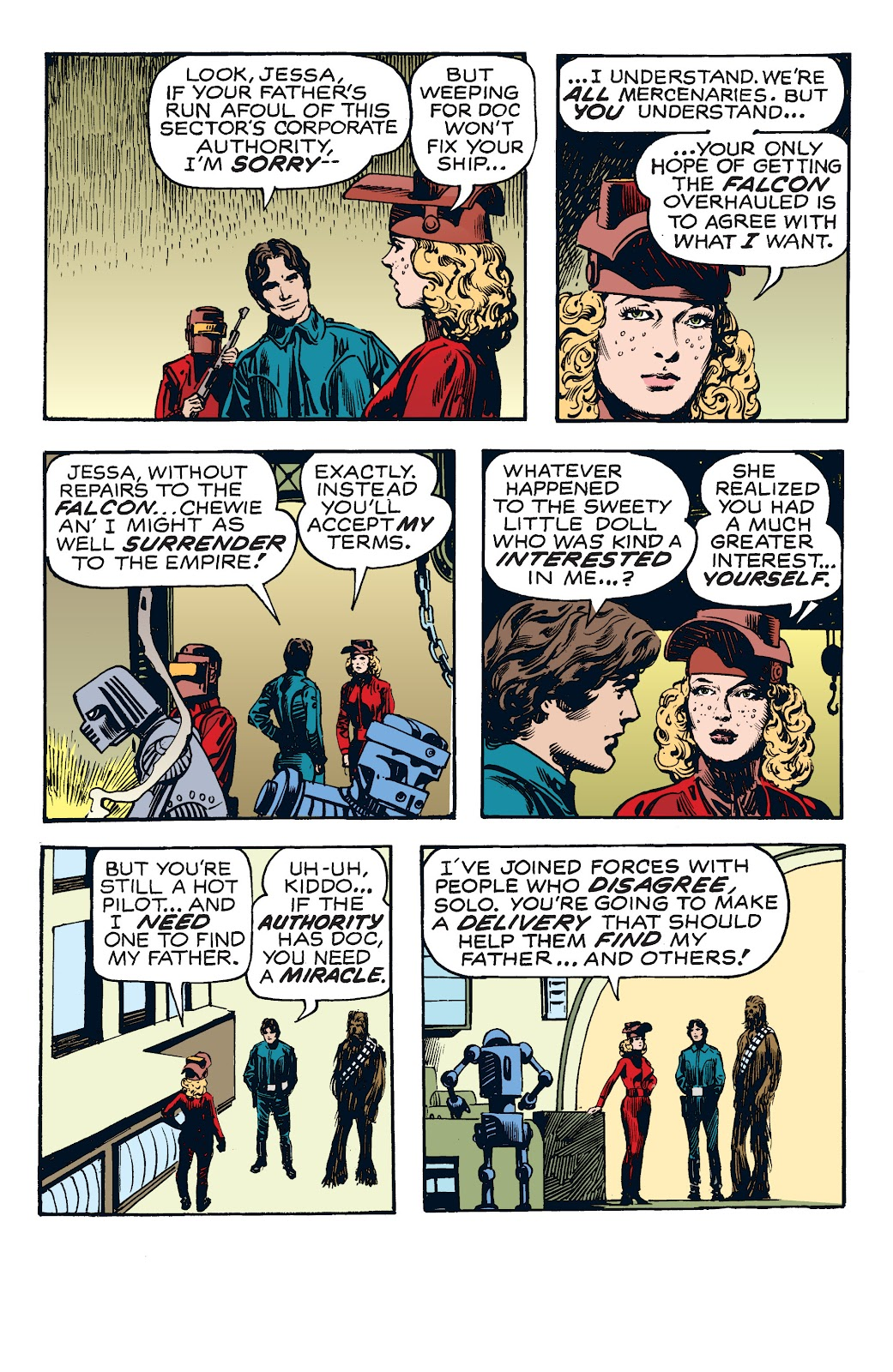Read online Star Wars Legends: The Newspaper Strips - Epic Collection comic -  Issue # TPB (Part 4) - 12