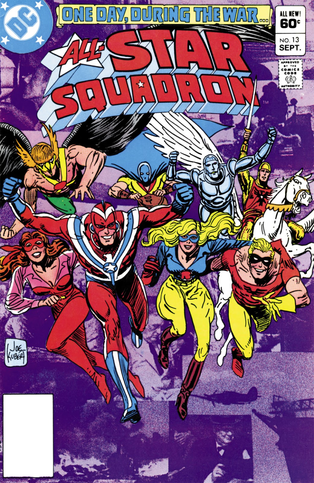 All-Star Squadron 13 Page 1