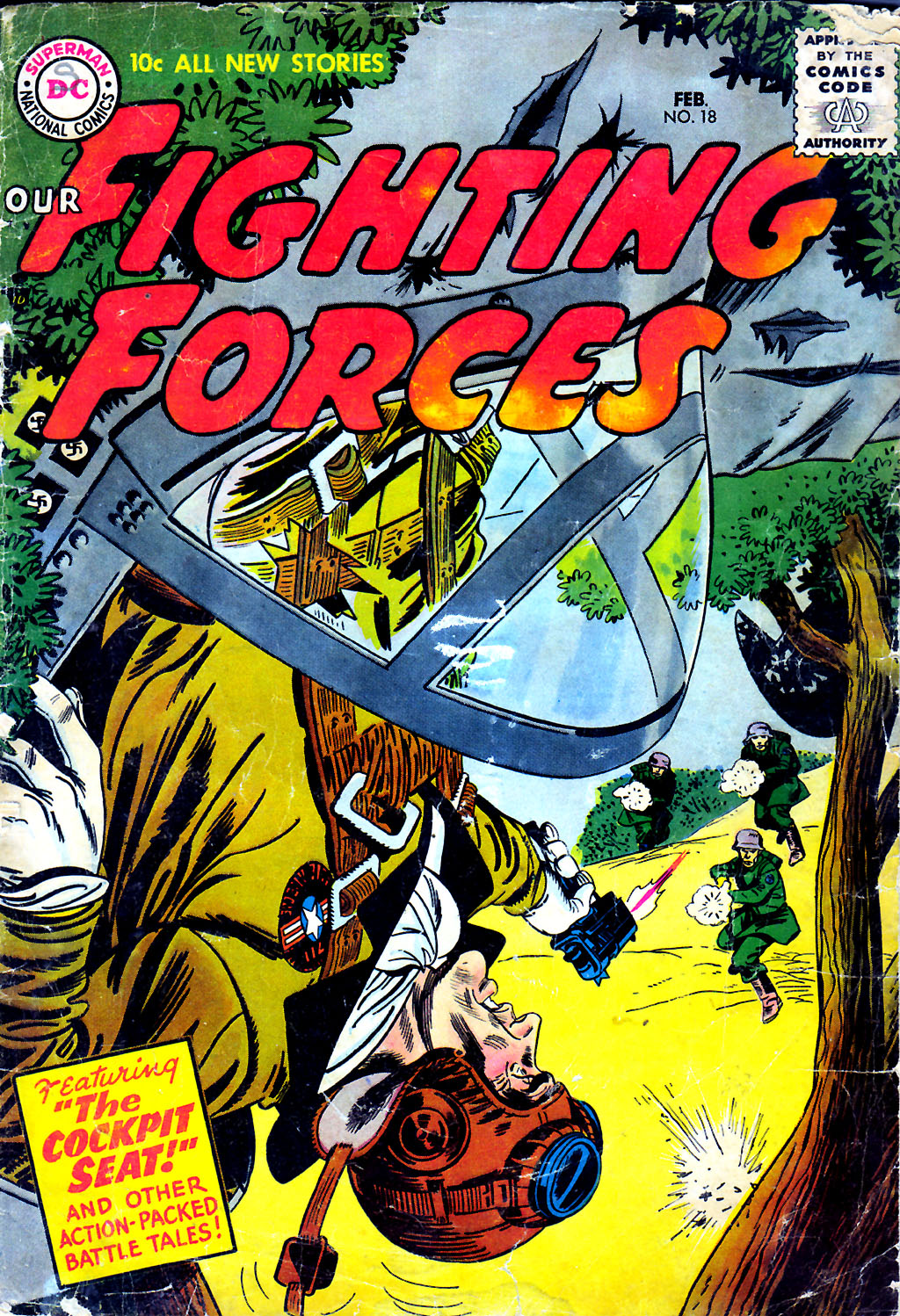 Our Fighting Forces (1954) issue 18 - Page 1
