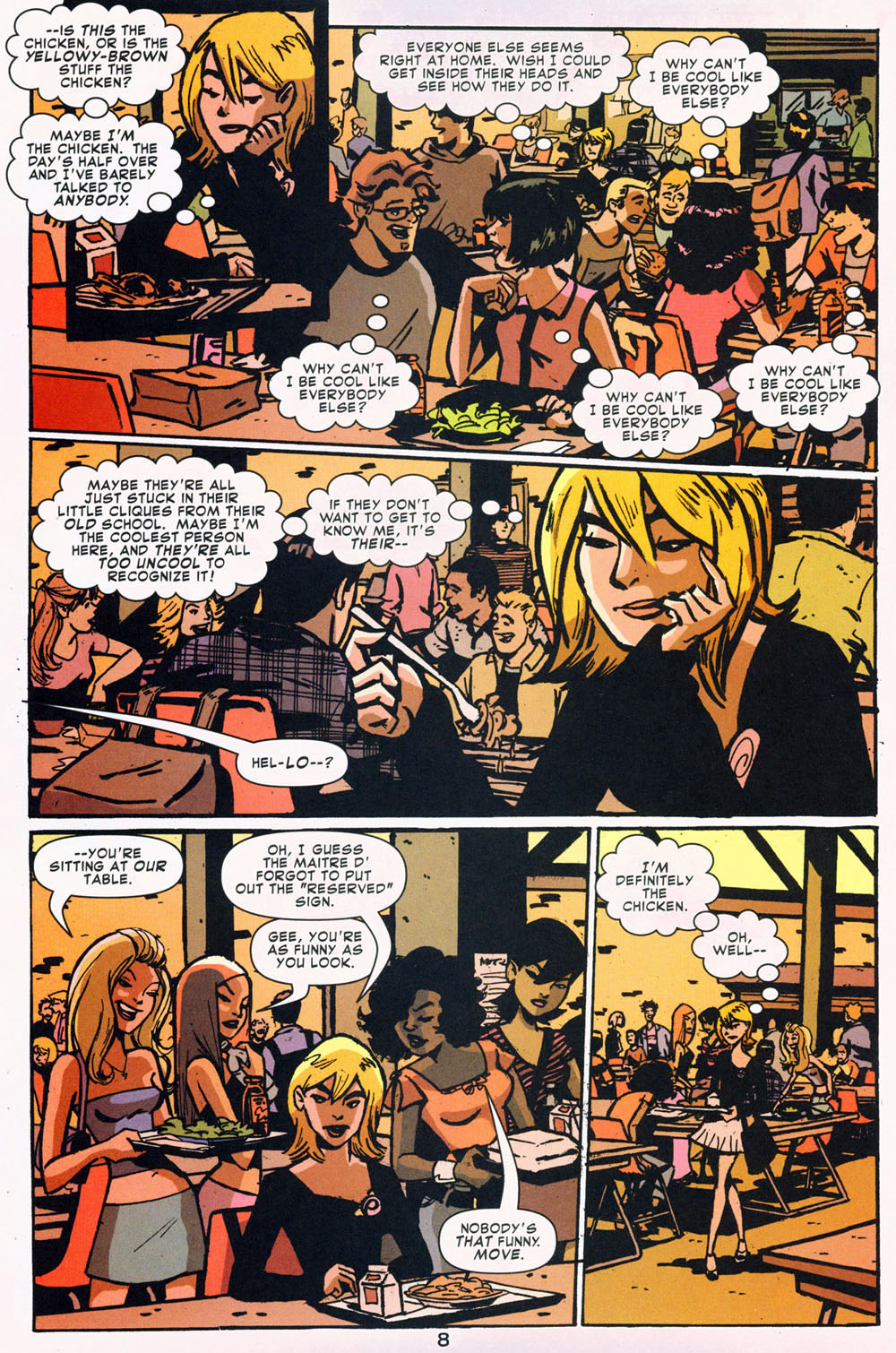 Read online Bad Girls comic -  Issue #1 - 9