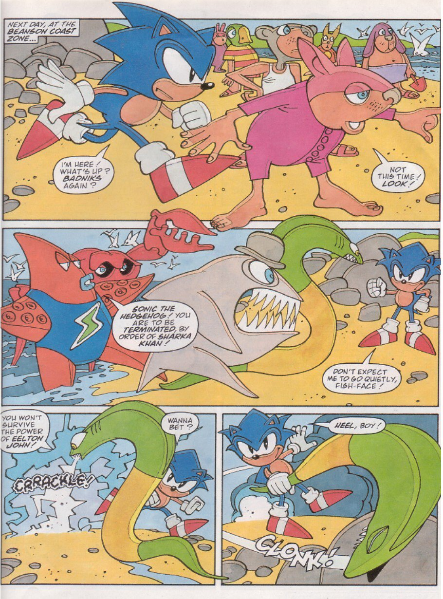 Read online Sonic the Comic comic -  Issue #126 - 25