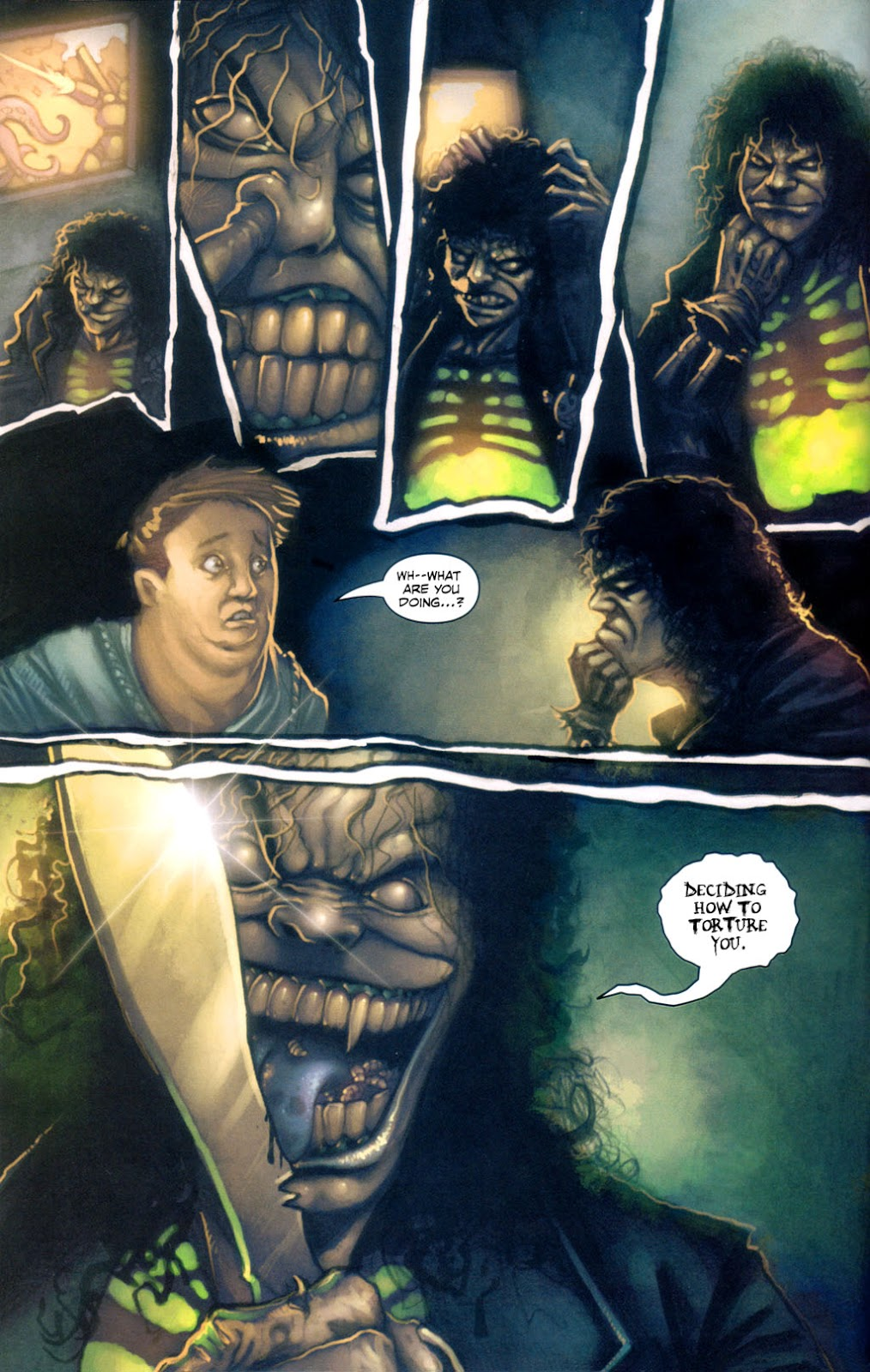 Read online Evil Ernie in Santa Fe comic -  Issue #1 - 9