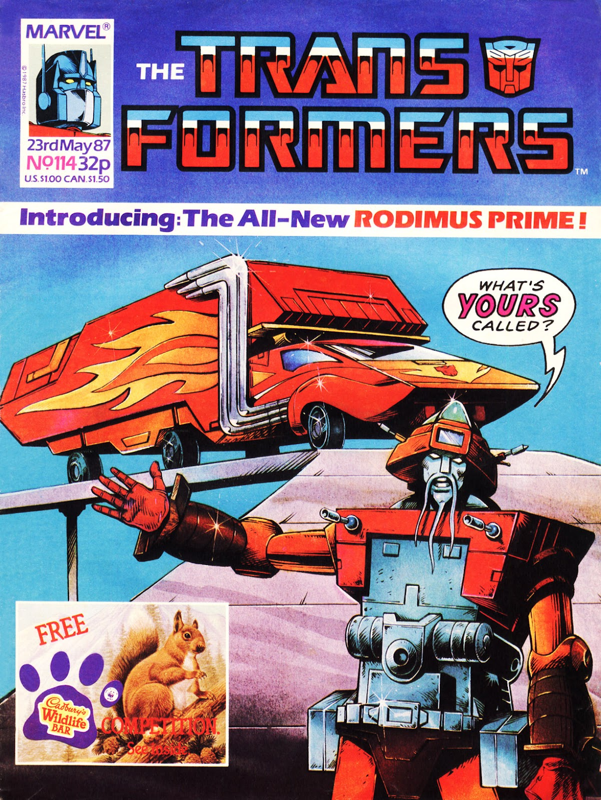 The Transformers (UK) 114 Page 1